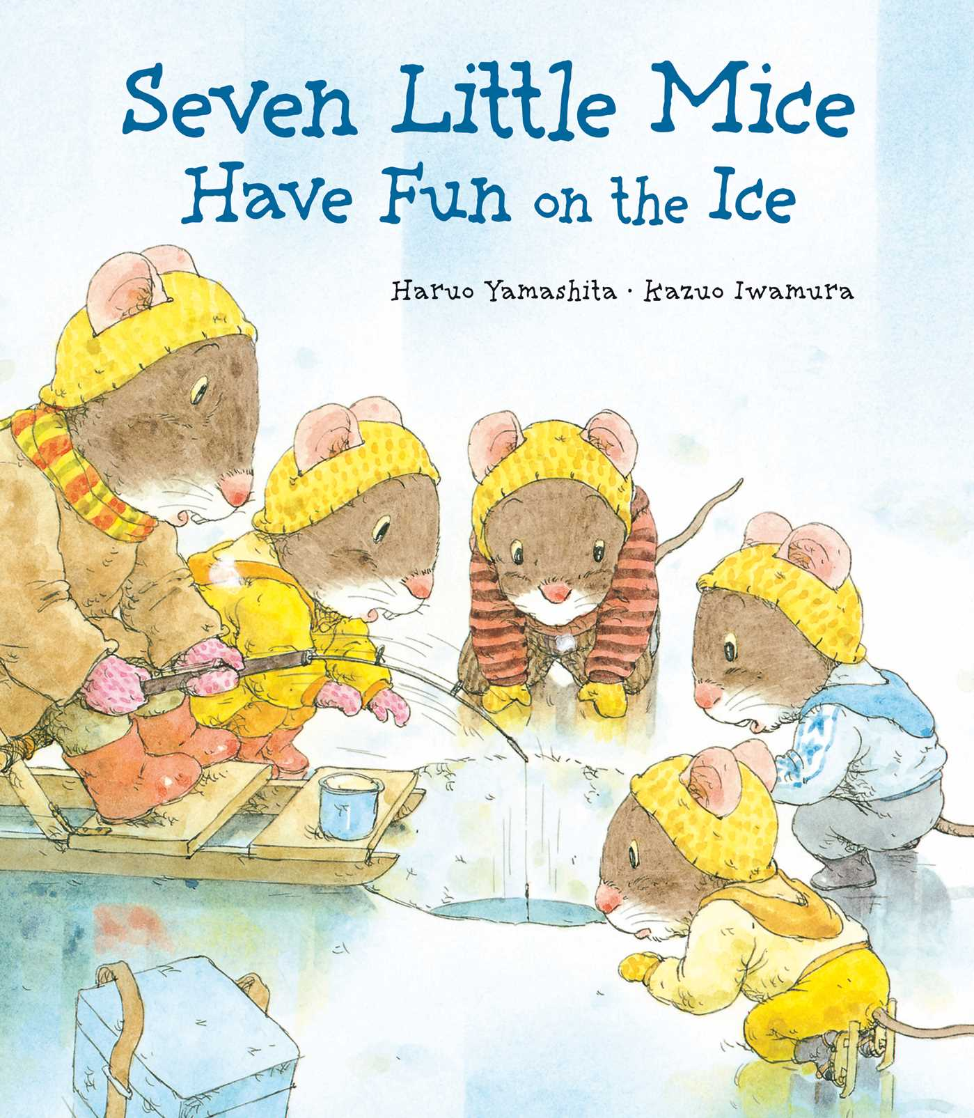 Book Cover Image (jpg): Seven Little Mice Have Fun on the Ice