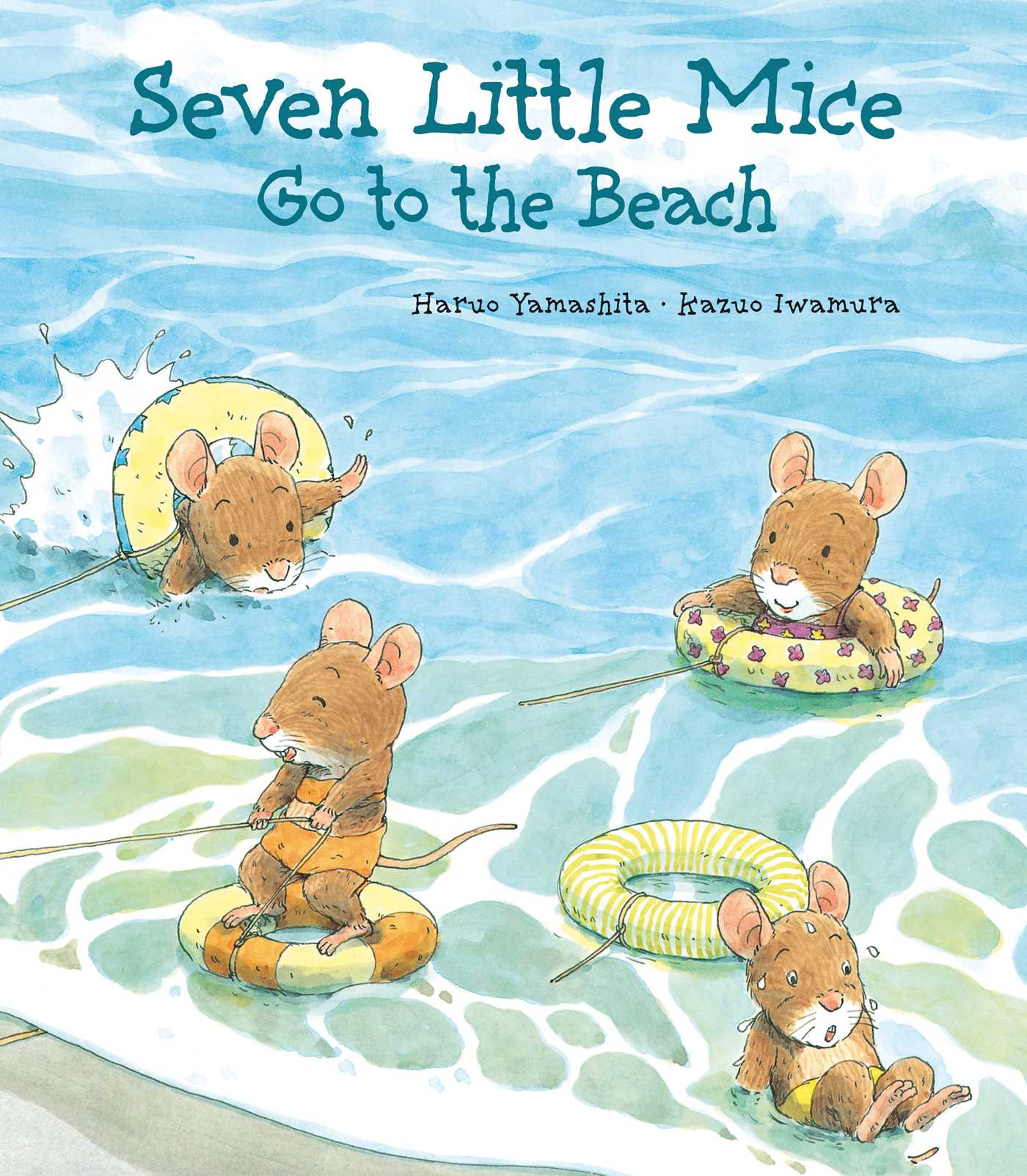 Book Cover Image (jpg): Seven Little Mice Go To The Beach