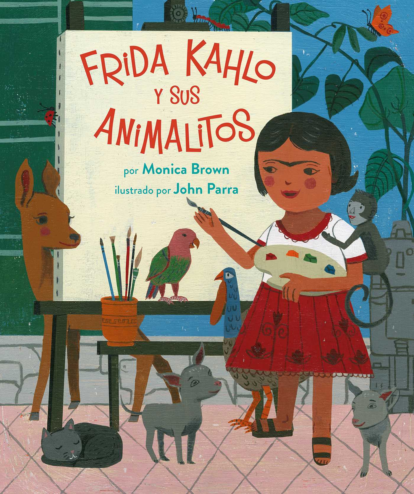 Frida kahlo y sus animalitos 9780735842922 hr