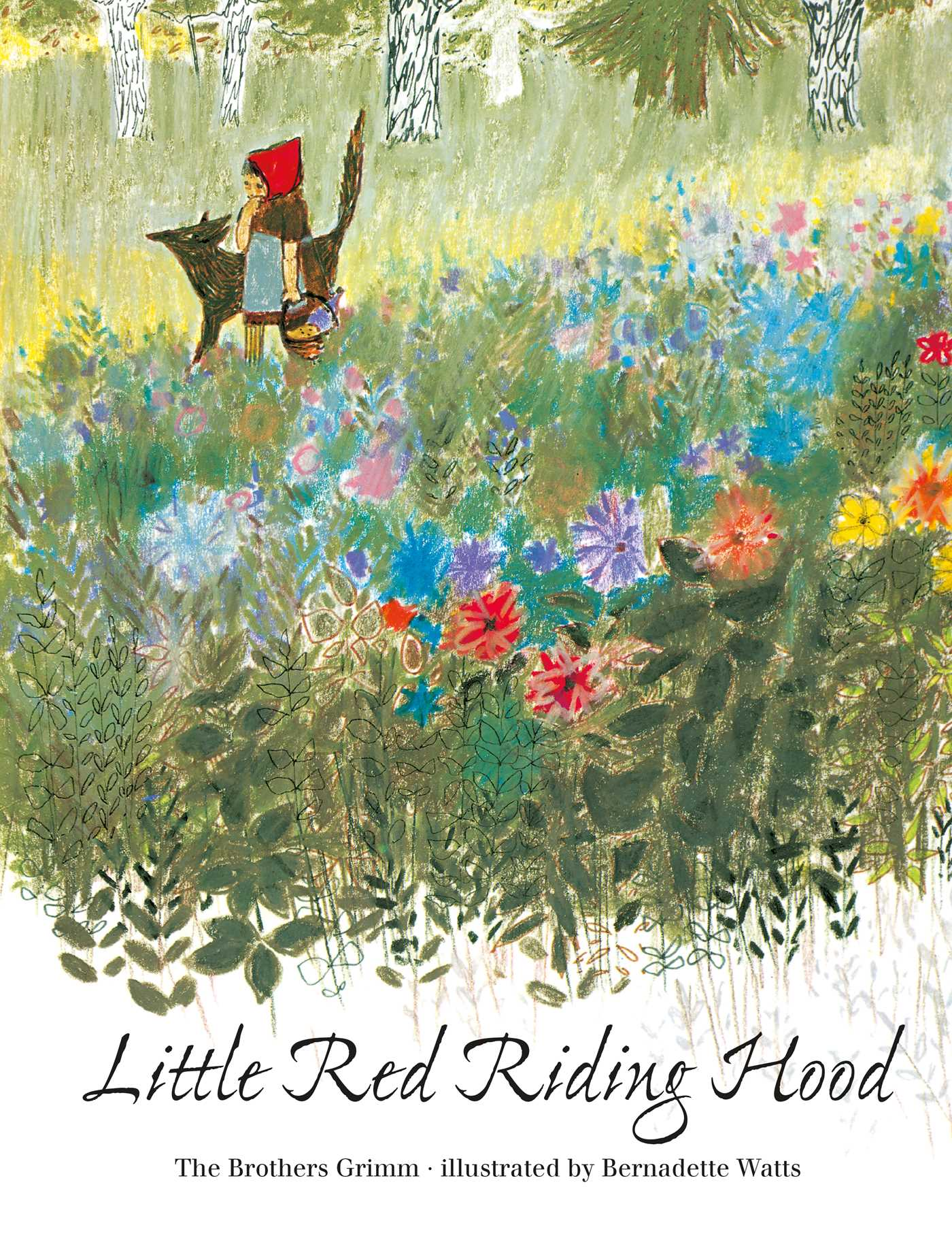 Little Red Riding Hood Book By Brothers Grimm Bernadette Watts