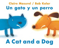 A Cat and a Dog / Un gato y un perro