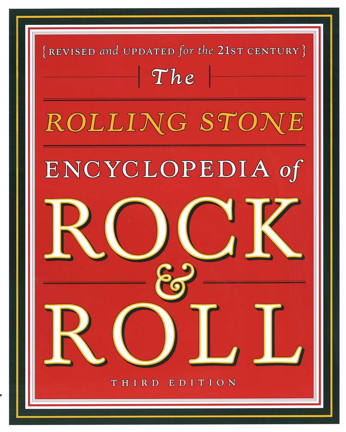 Rolling stone encyclopedia of rock roll 9780743201209 hr