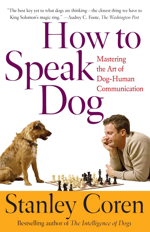 How to speak dog 9780743202978 hr