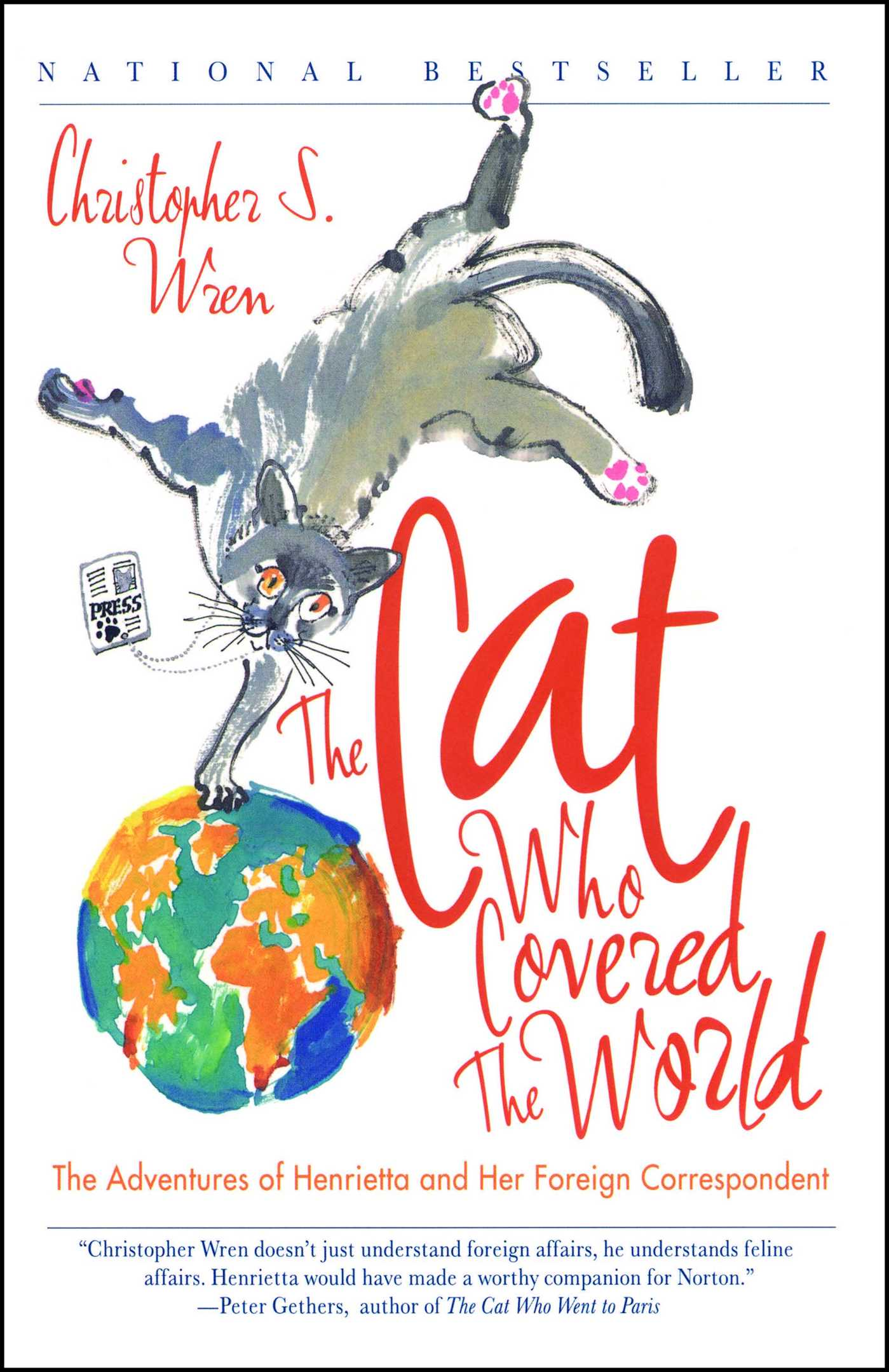 The cat who covered the world 9780743222761 hr