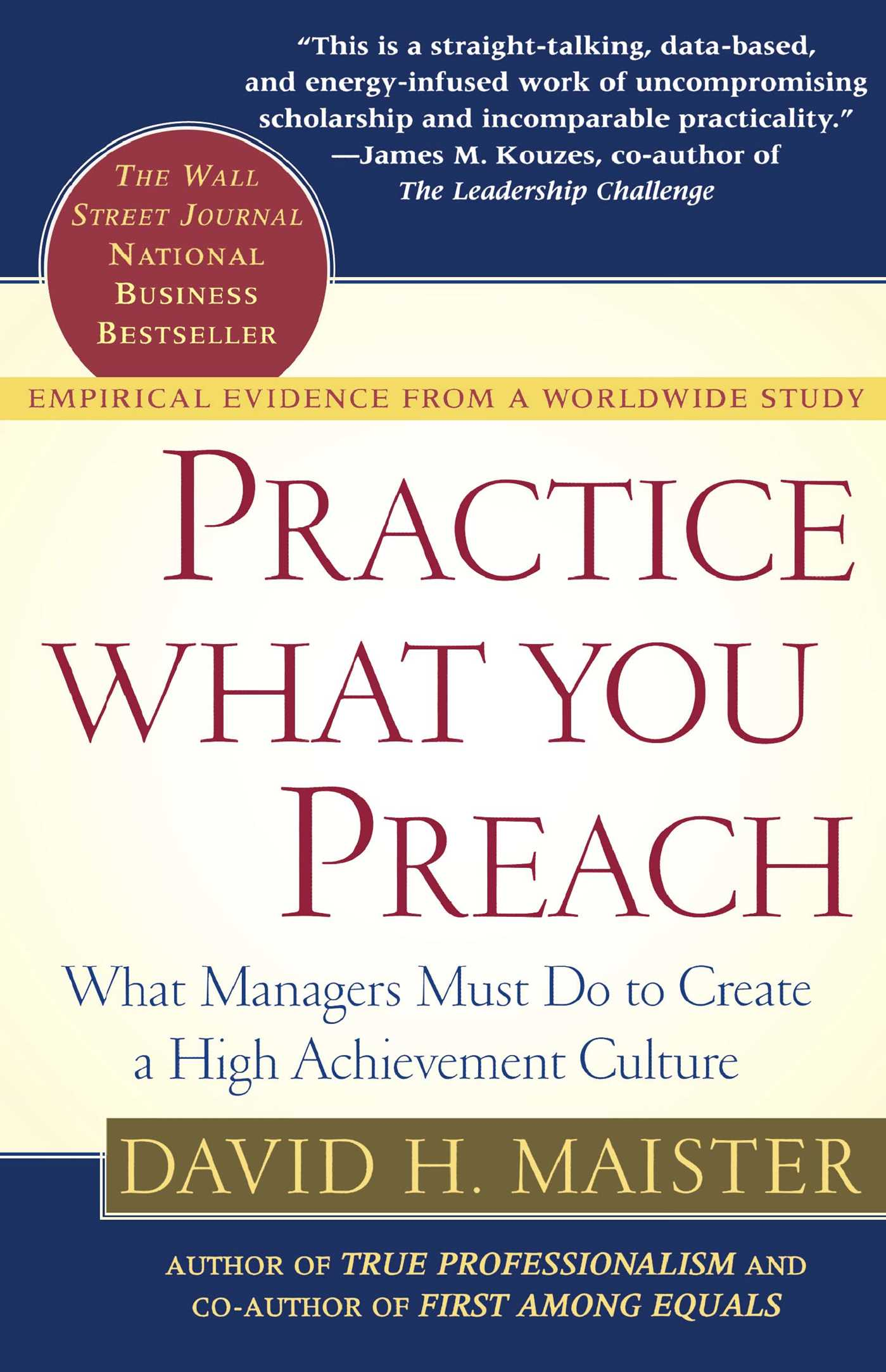 Book Cover Image (jpg): Practice What You Preach