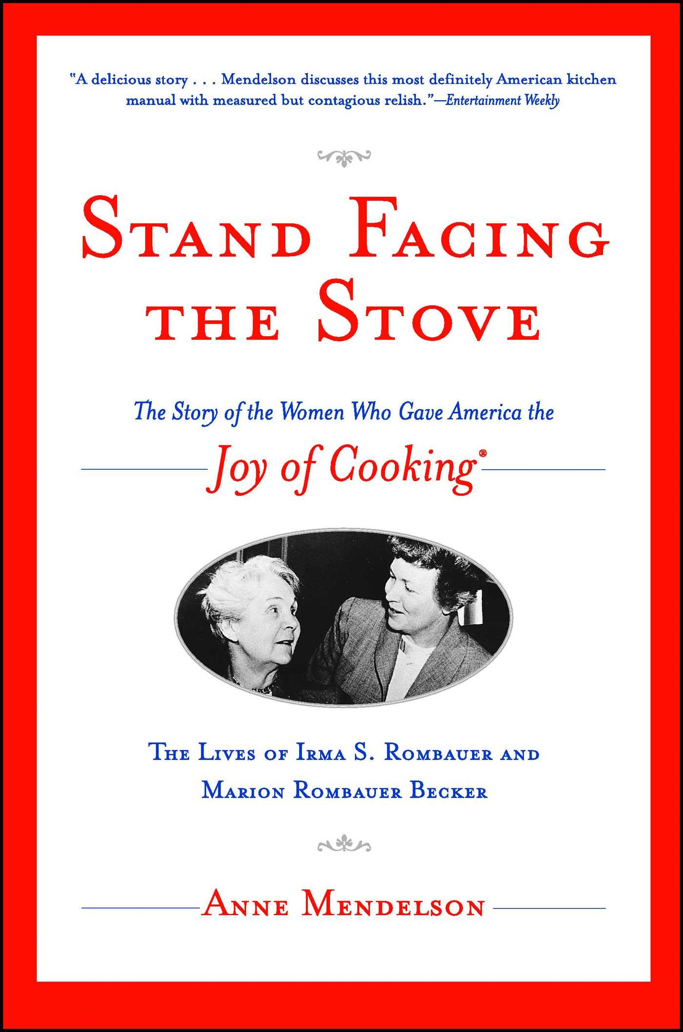 Stand facing the stove 9780743229395 hr