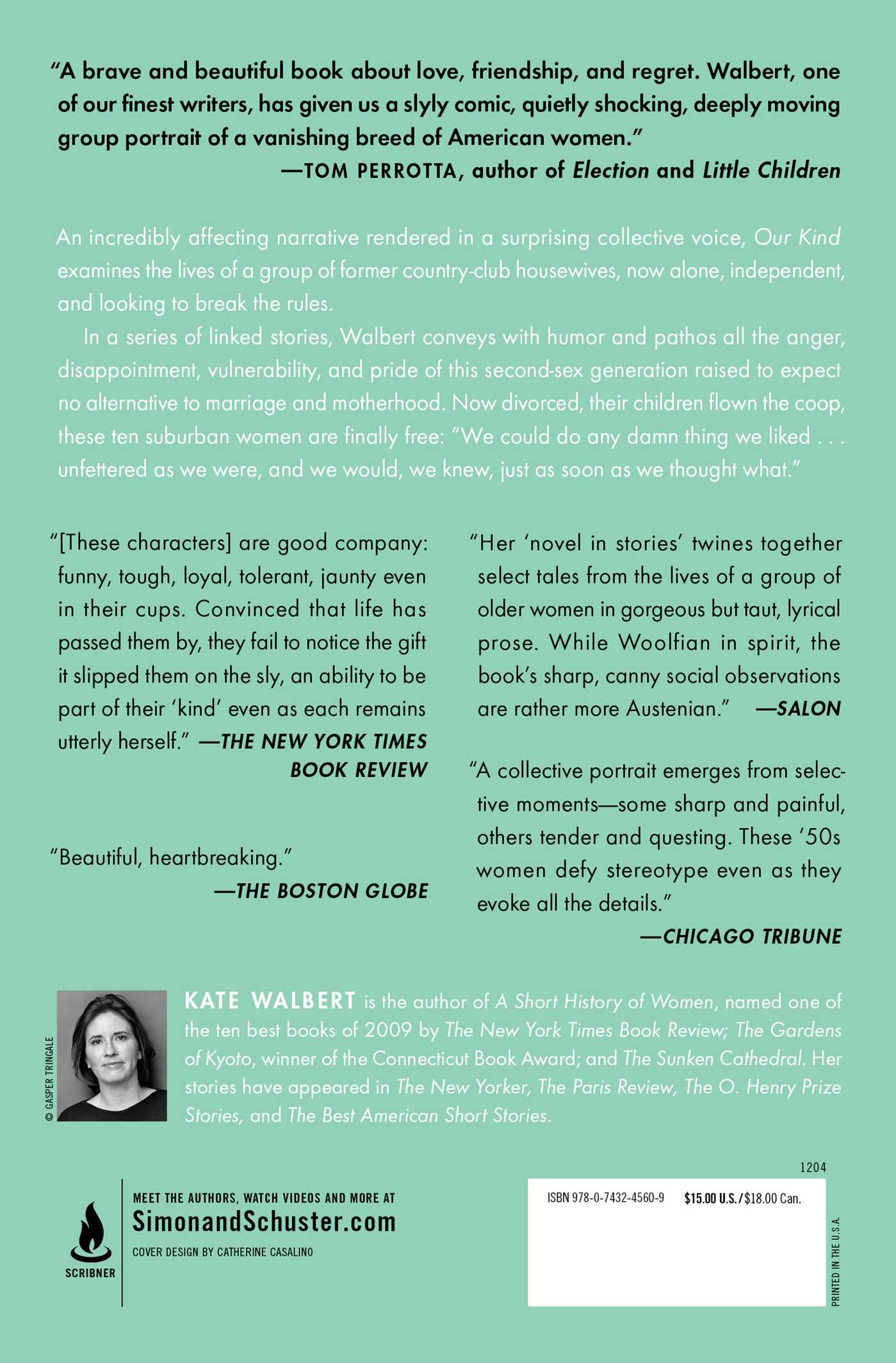 Our Kind | Book by Kate Walbert | Official Publisher Page | Simon