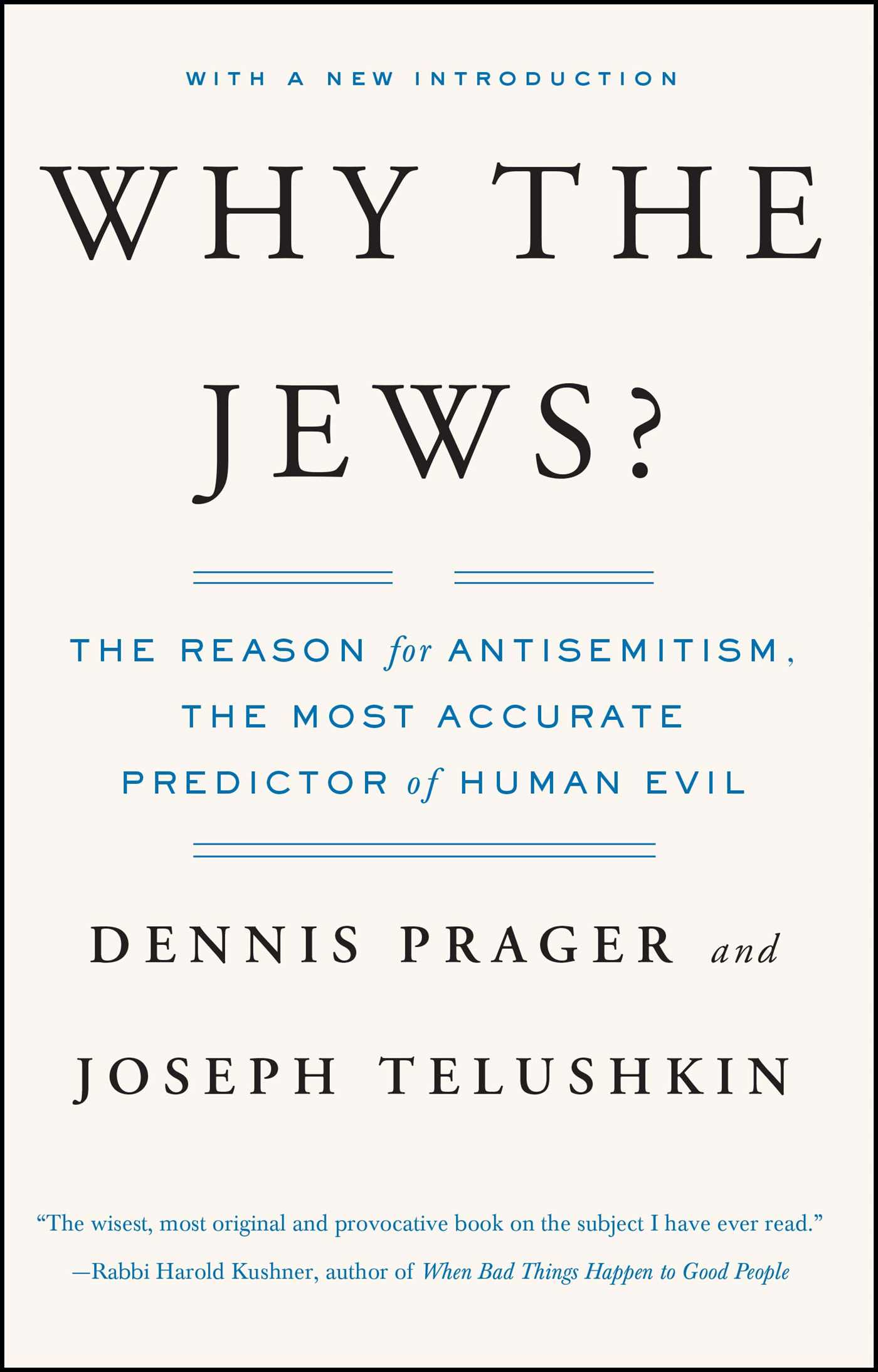 Why the jews book by dennis prager joseph telushkin official why the jews 9780743246200 hr fandeluxe Gallery