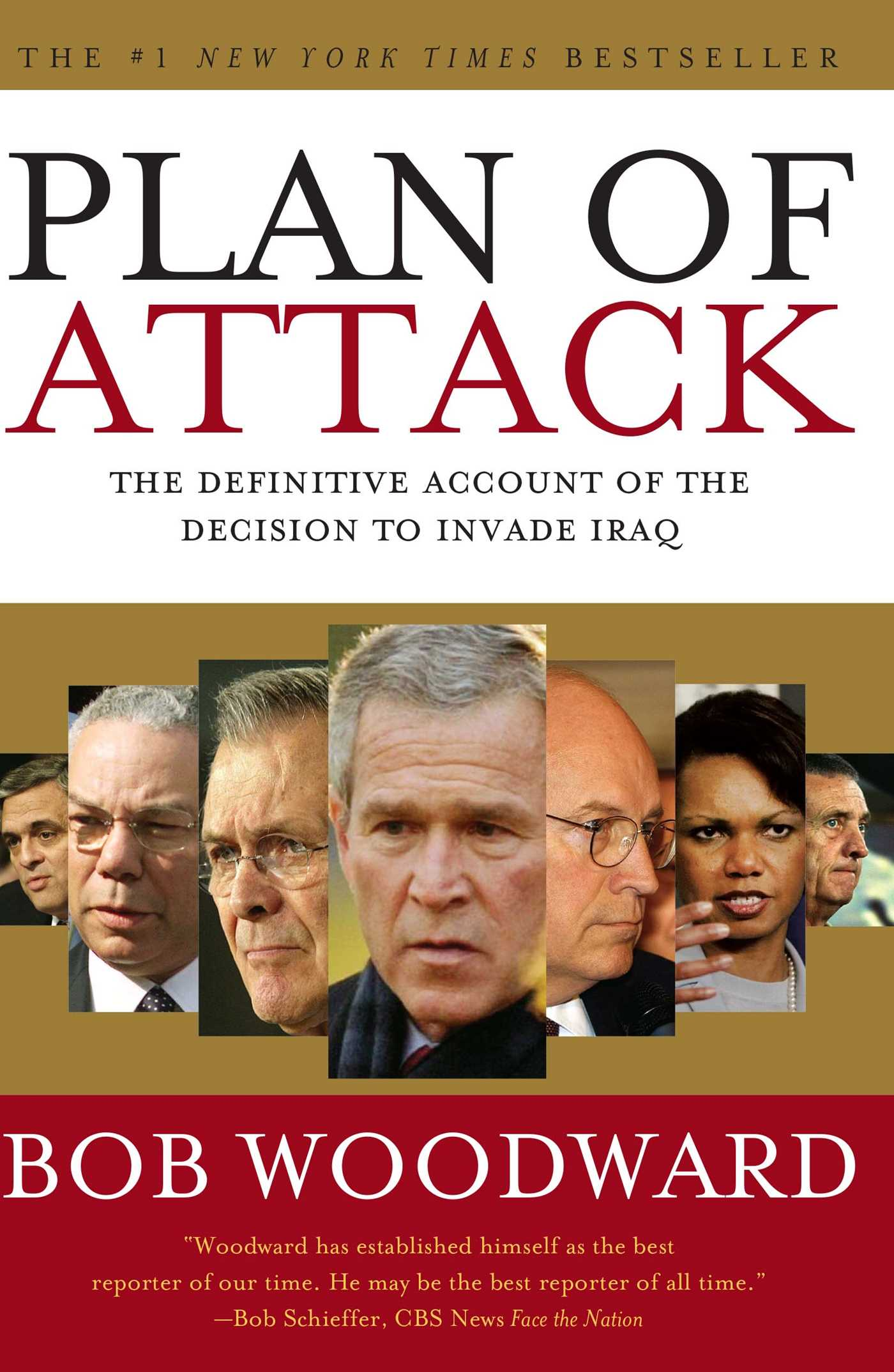 Plan Of Attack Book By Bob Woodward Official Publisher