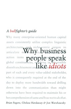 Why Business People Speak Like Idiots