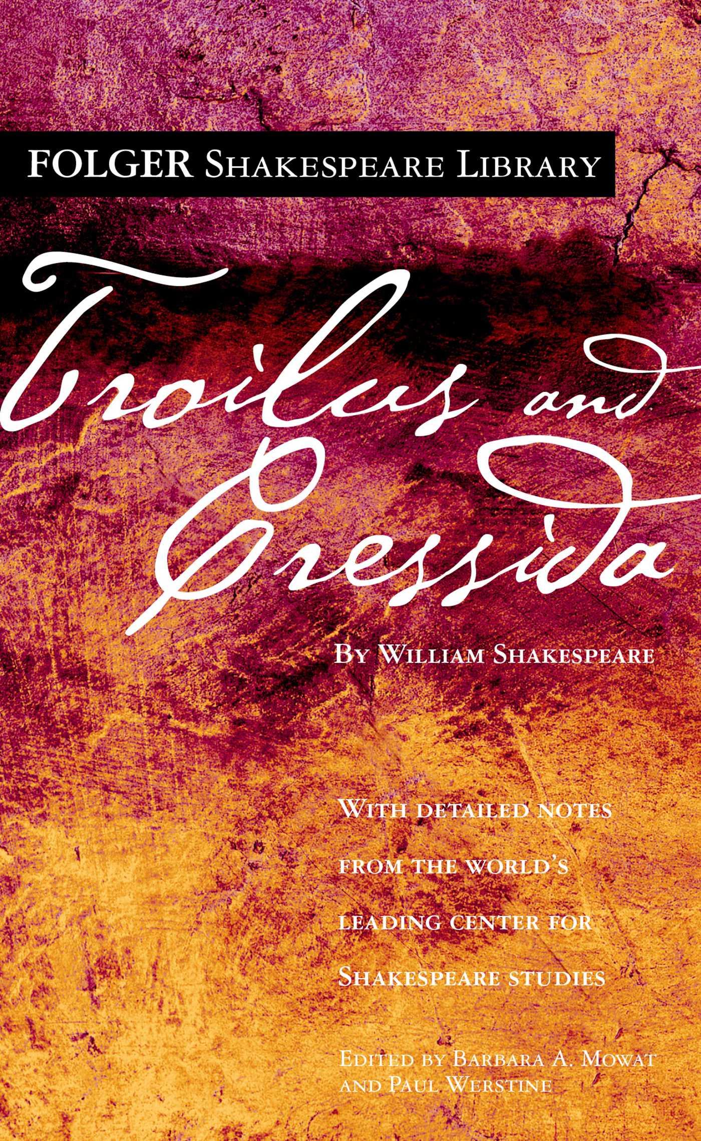 Troilus and cressida 9780743273312 hr