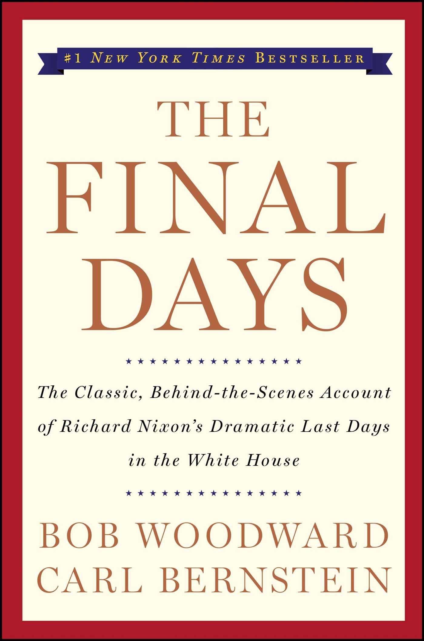 The final days 9780743274067 hr