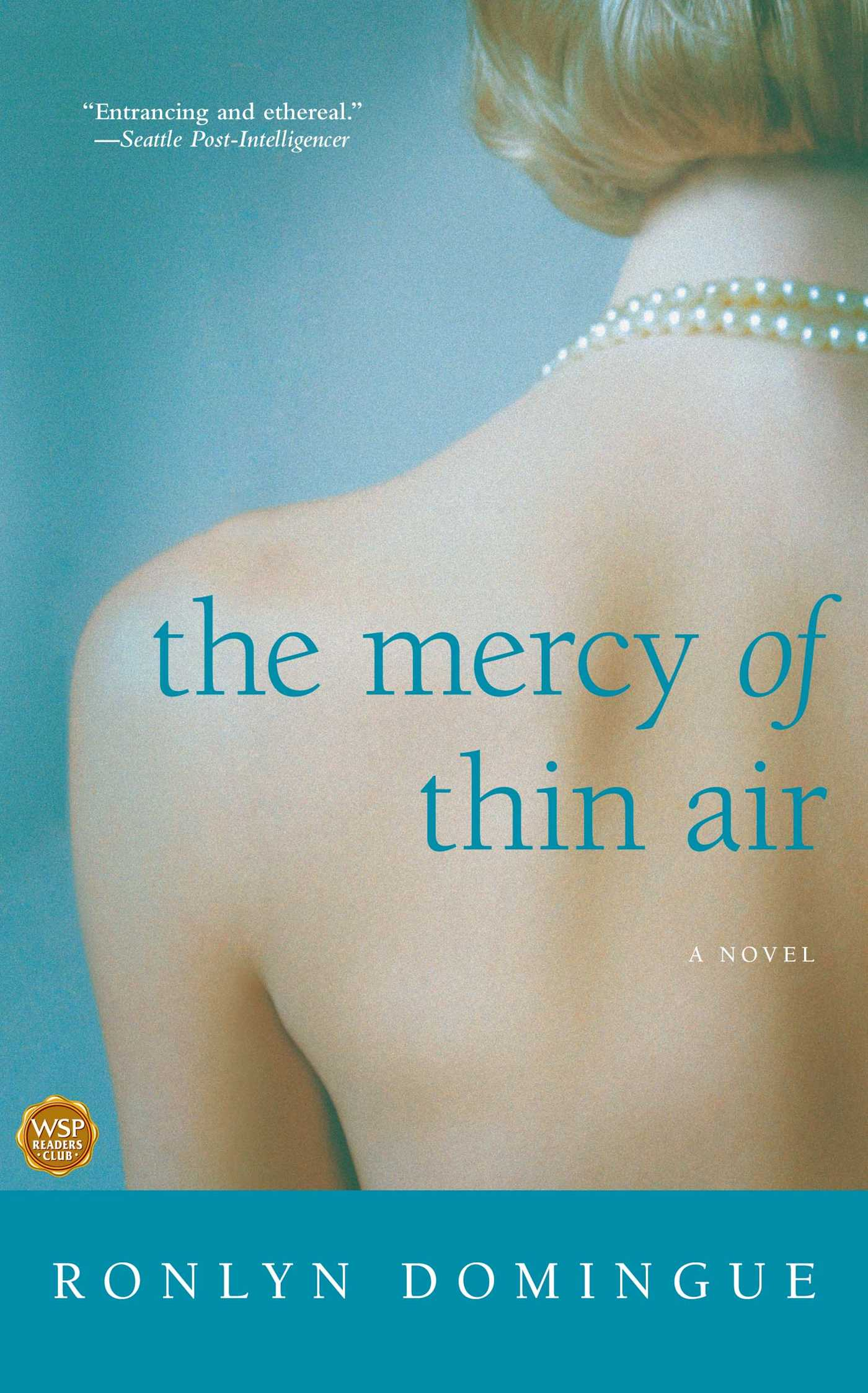 the mercy of thin air book by ronlyn domingue official mercy of thin air 9780743278829 hr