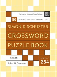Simon and Schuster Crossword Puzzle Book #254