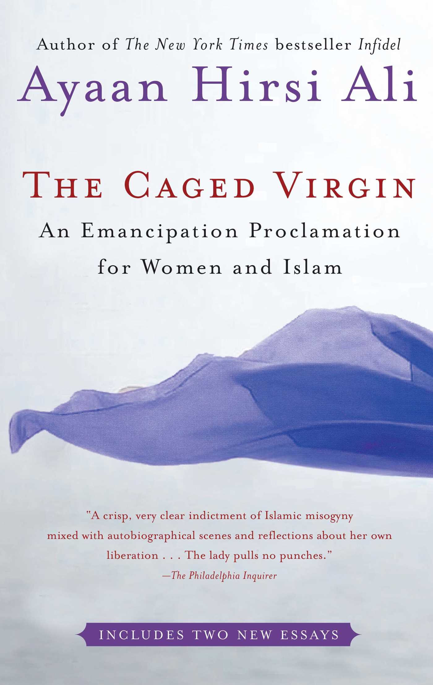 the caged virgin book by ayaan hirsi ali official publisher an emancipation proclamation for women and islam