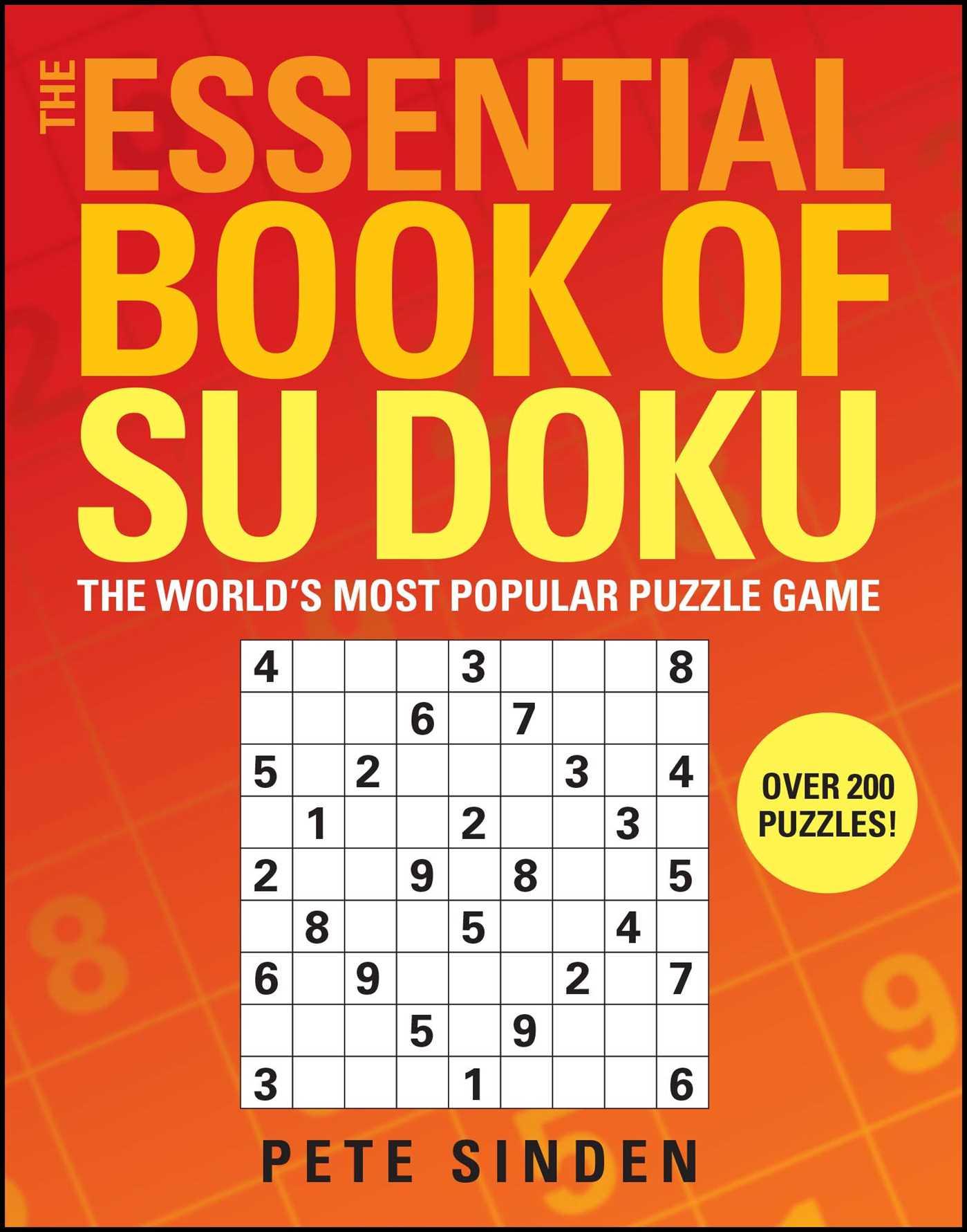 The essential book of su doku 9780743289344 hr
