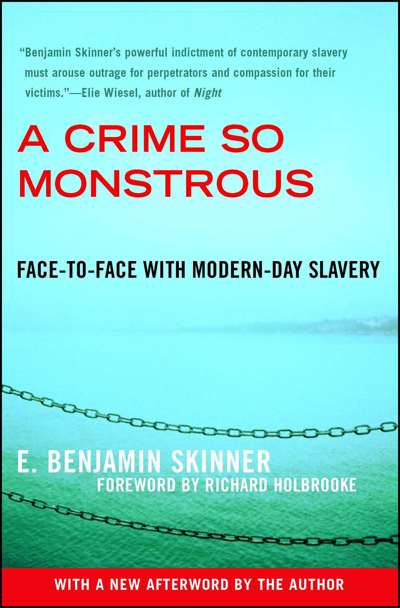A Crime So Monstrous | Book by E  Benjamin Skinner