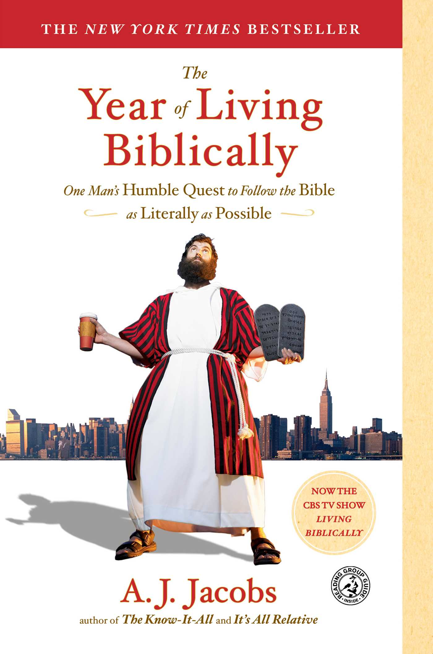 The year of living biblically 9780743291484 hr