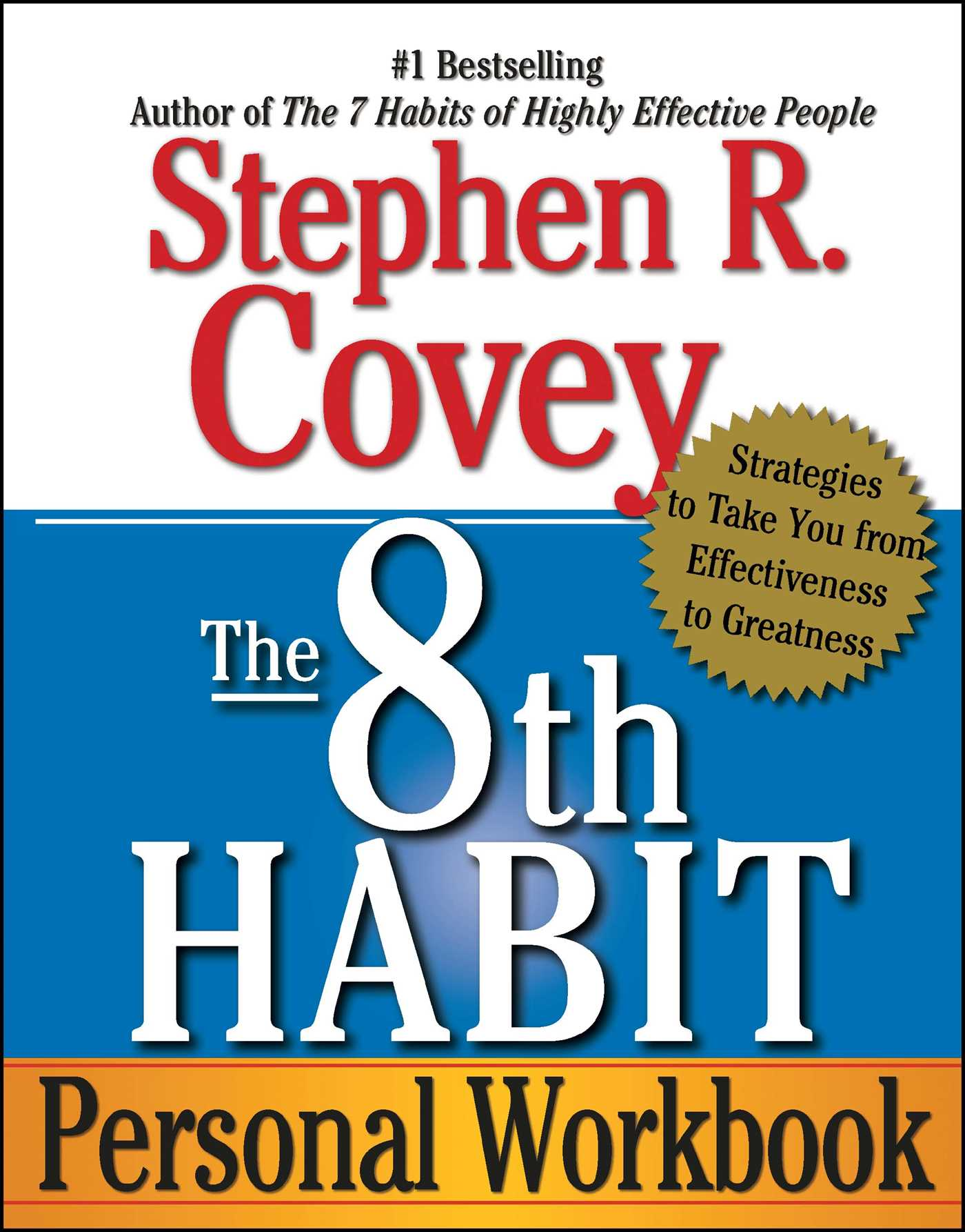 The 8th Habit Personal Workbook 9780743293198 Hr
