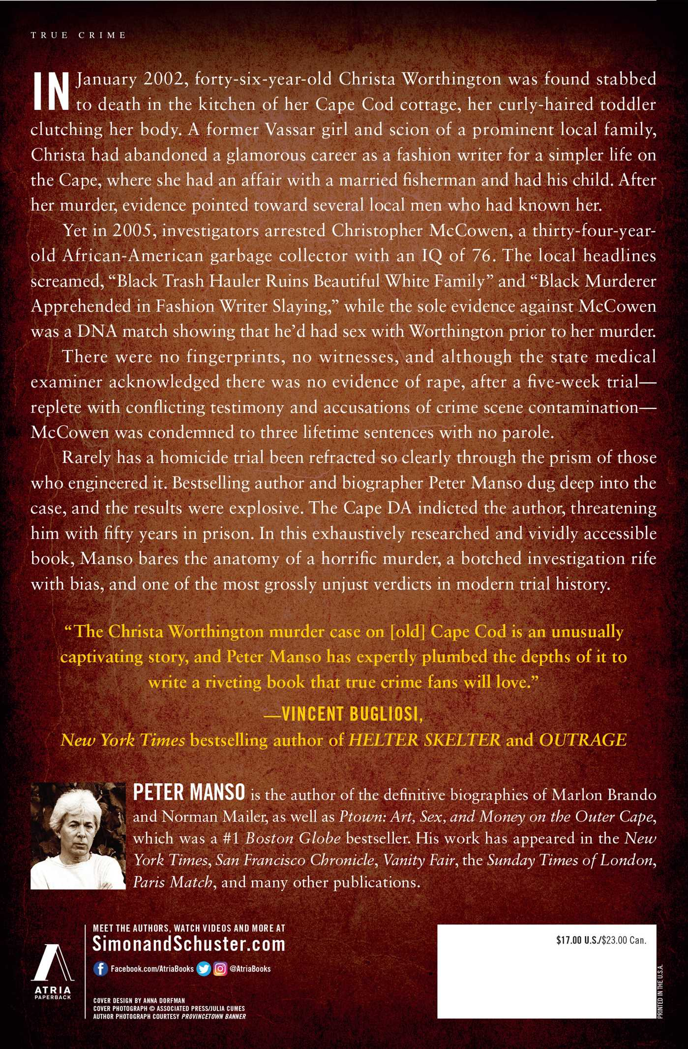 Reasonable Doubt | Book by Peter Manso | Official Publisher