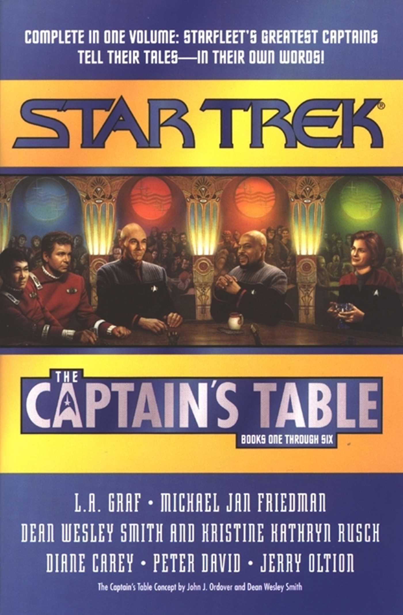 The captains table 9780743406703 hr