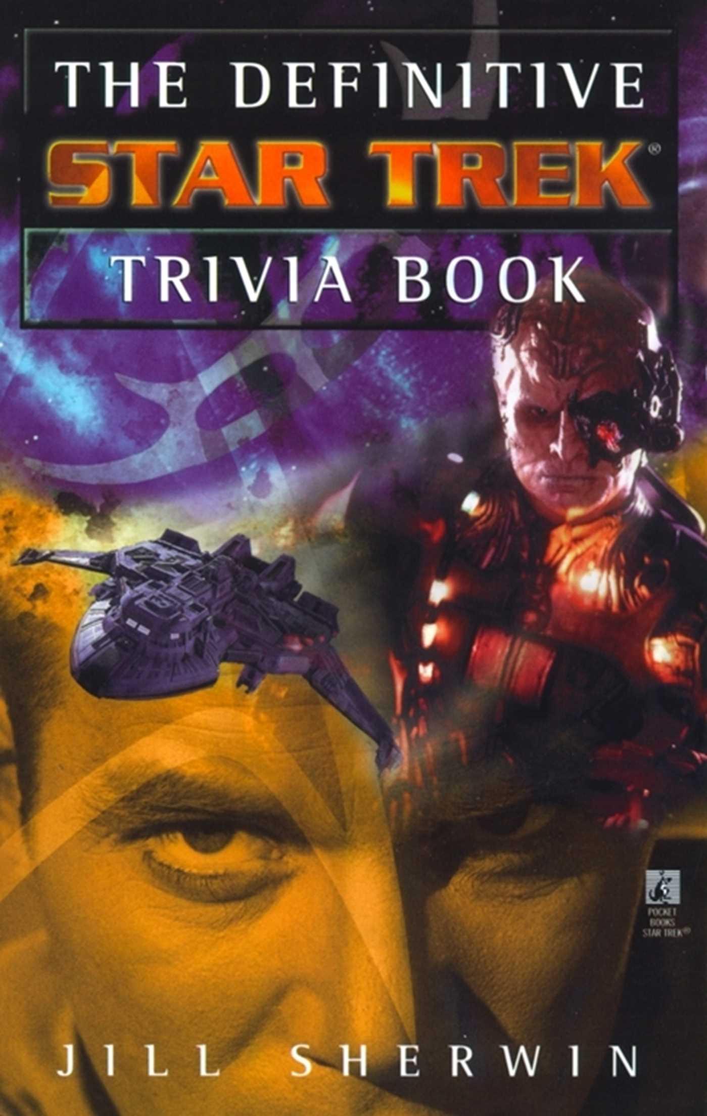 The definitive star trek trivia book volume i 9780743406710 hr