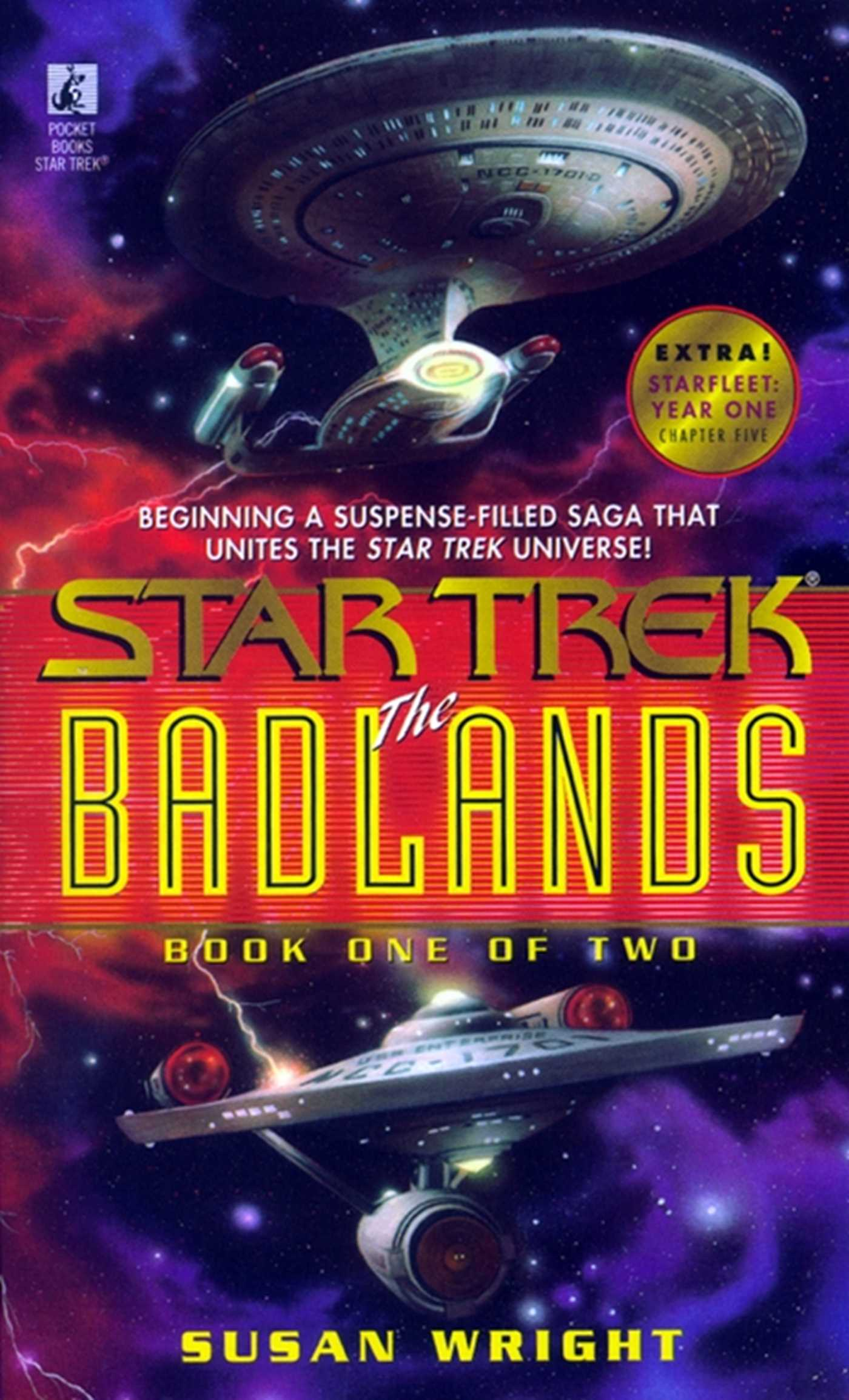 The star trek the badlands 9780743406741 hr