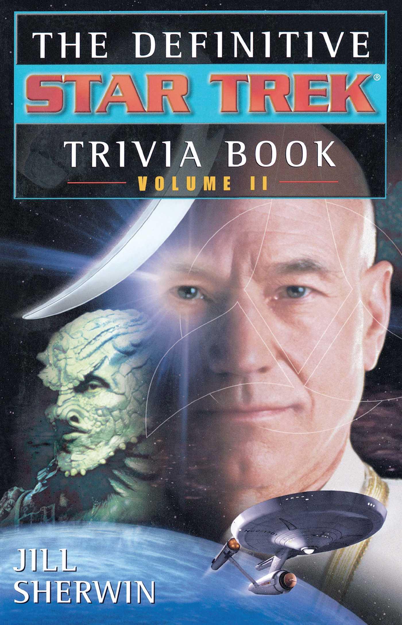 The star trek the definitive star trek trivia book volume ii 9780743412810 hr