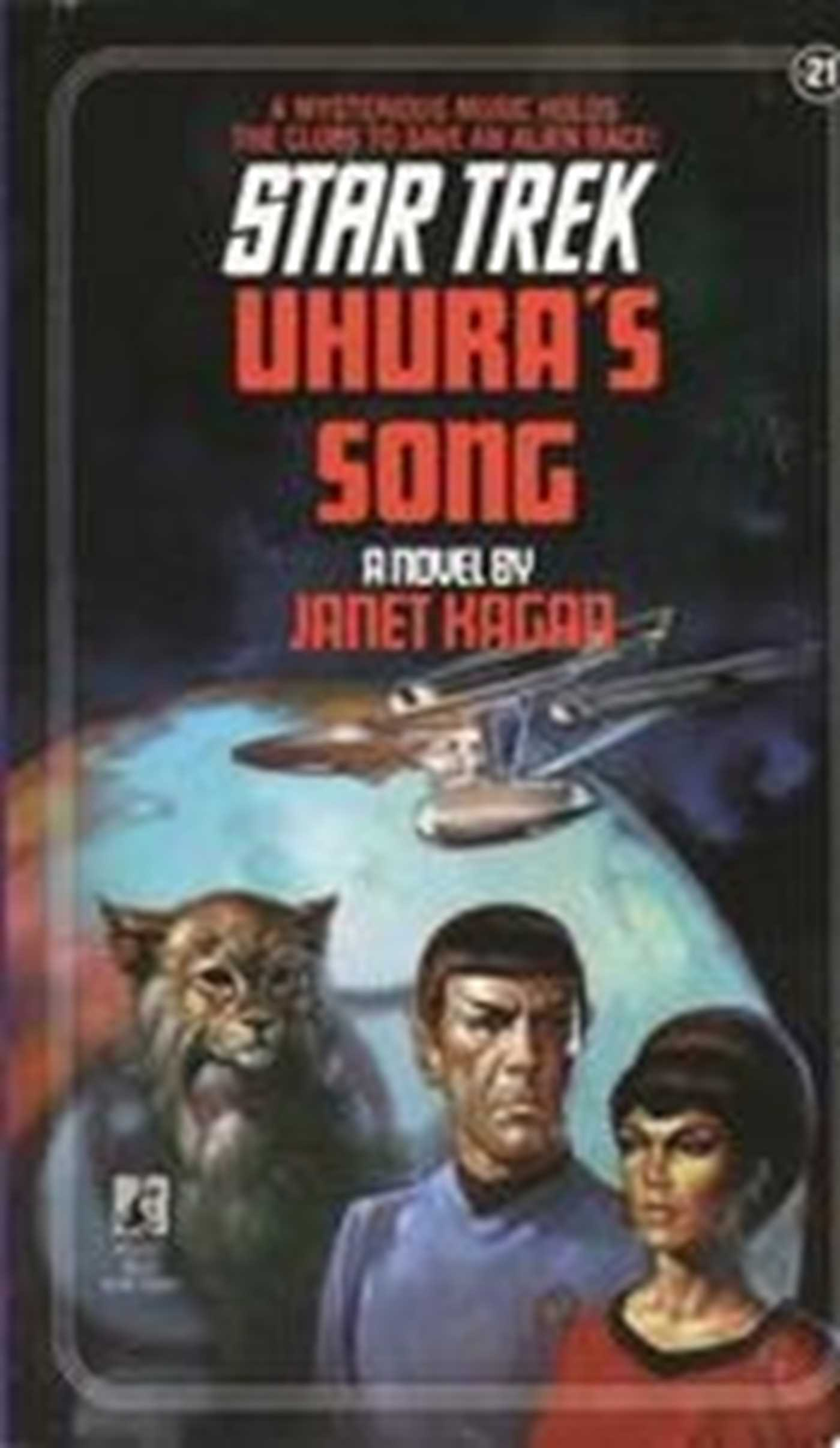 Uhura's Song eBook by Janet Kagan   Official Publisher Page ...