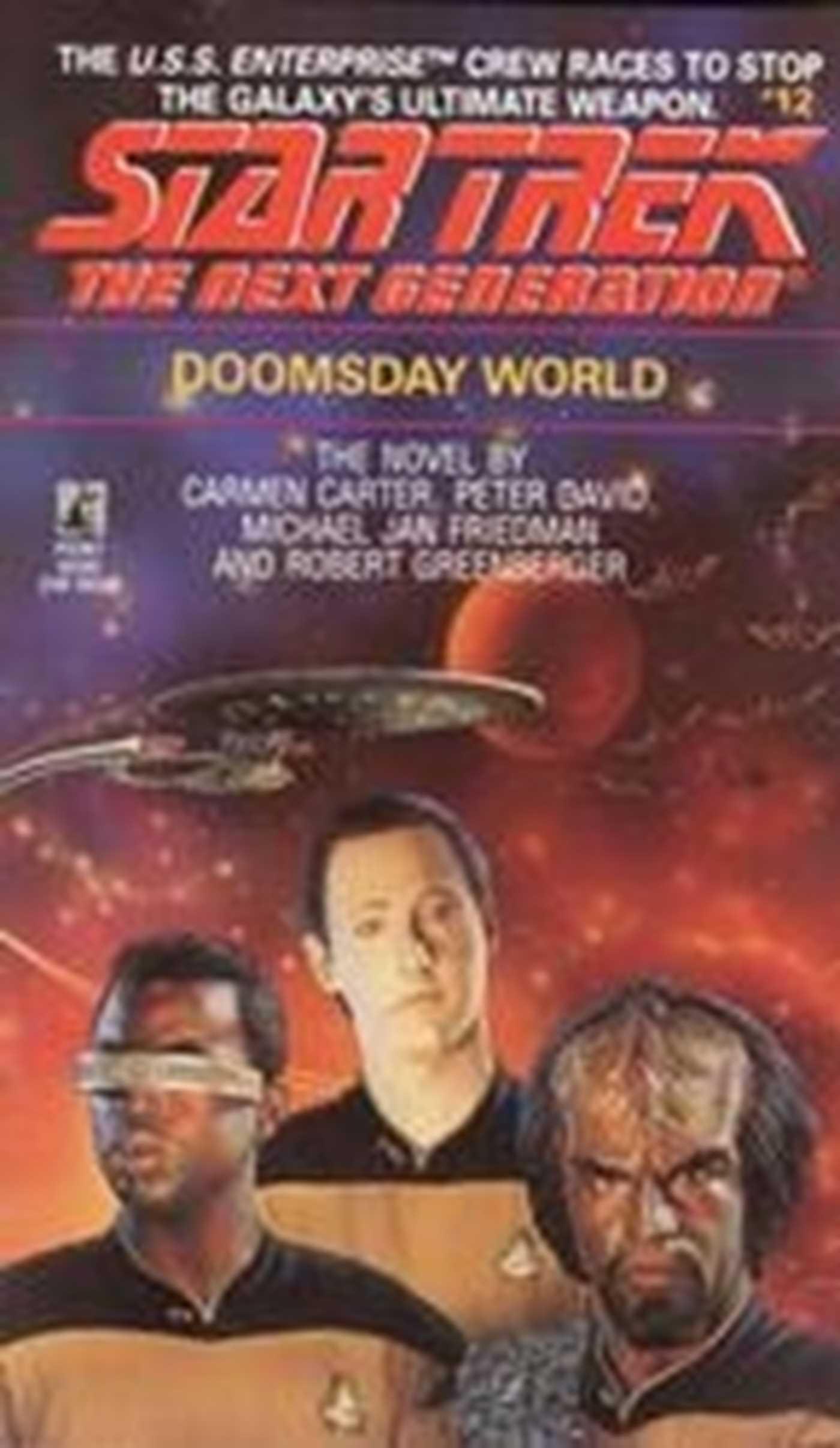 Doomsday world 9780743420921 hr