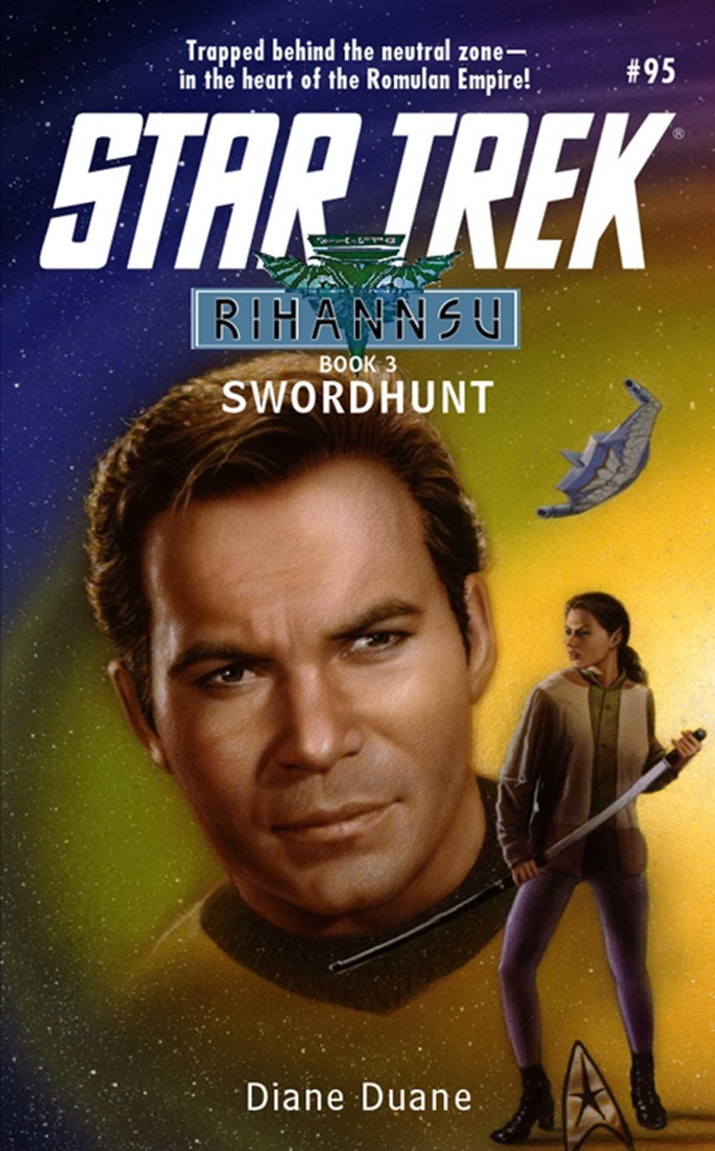 Star trek the original series rihannsu 3 swordhunt 9780743422277 hr