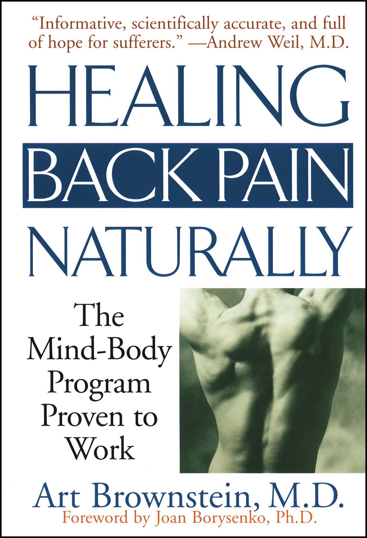 992f94f32c9b1 Healing Back Pain Naturally   Book by Art Brownstein   Official ...