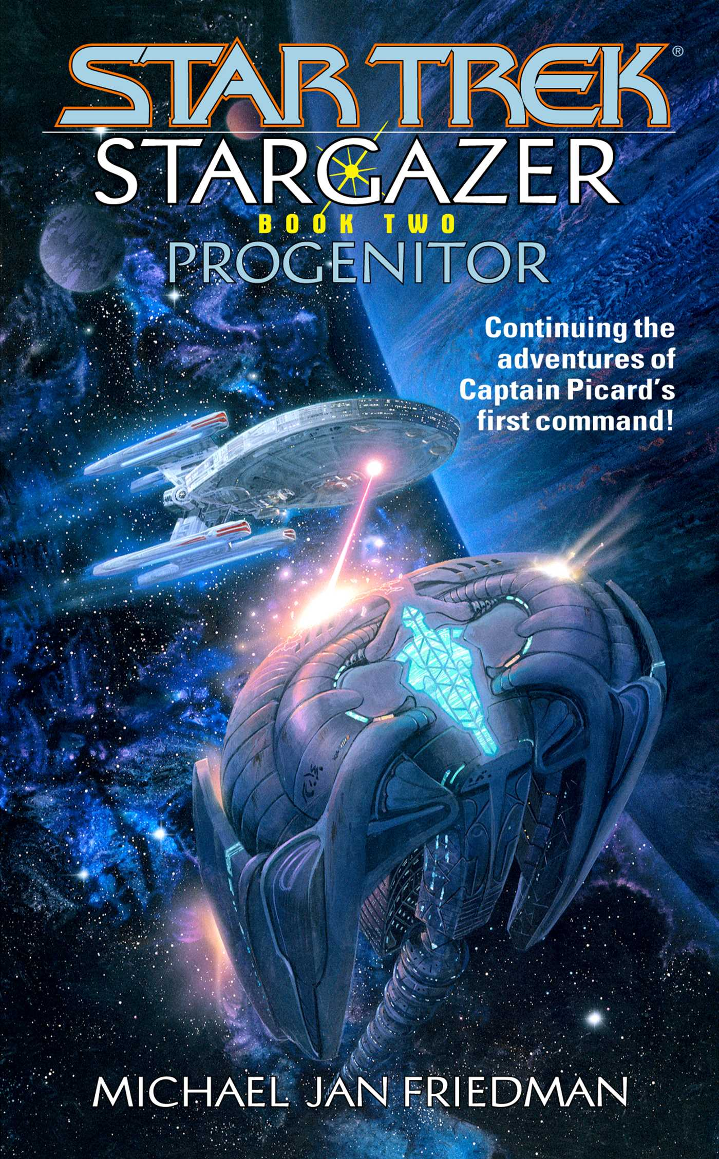 Star trek the next generation stargazer progenitor 9780743427968 hr
