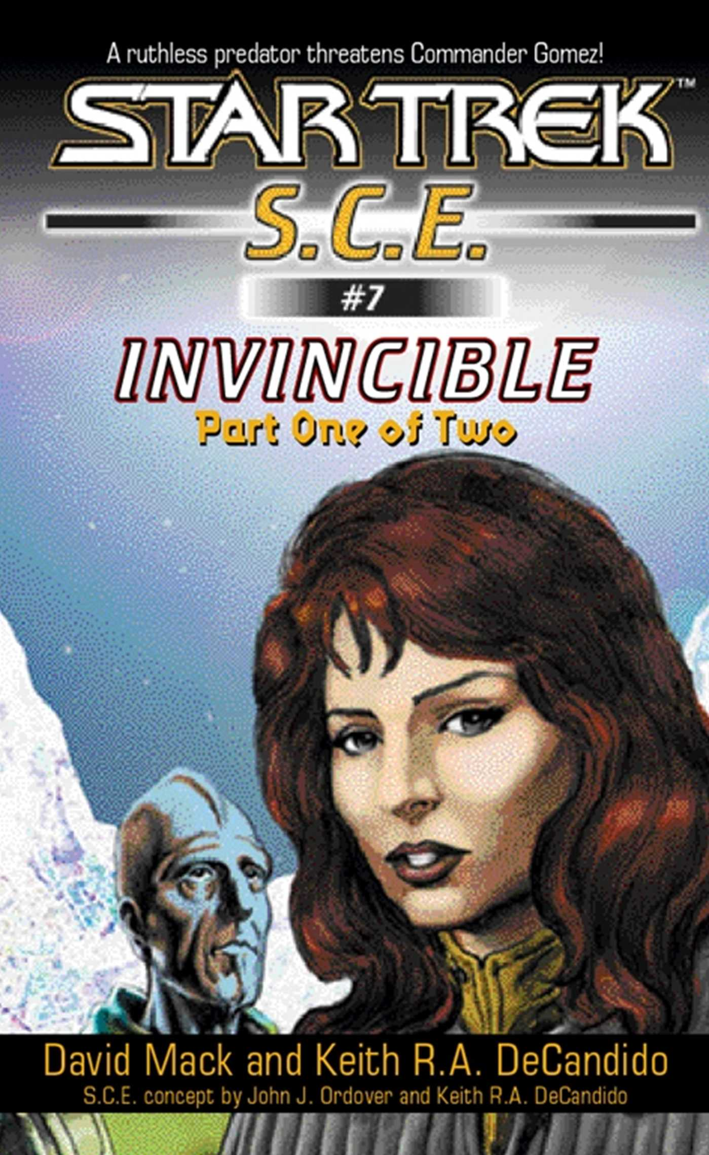 Star trek invincible book one 9780743428729 hr