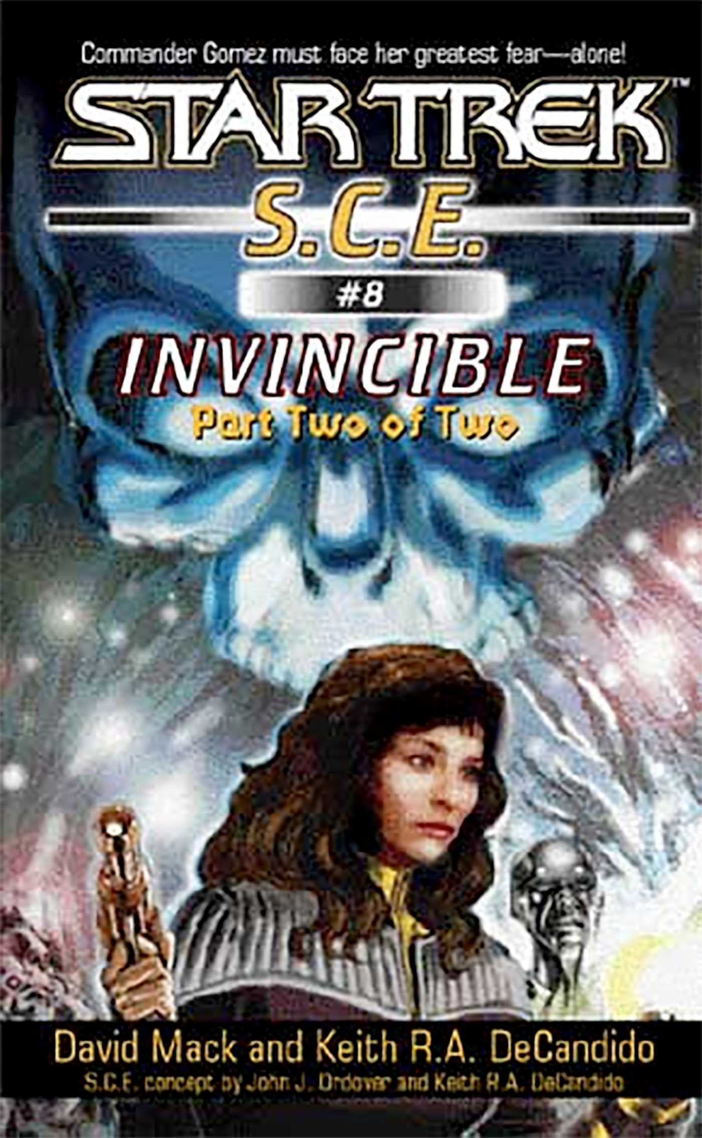 Star trek invincible book two 9780743428736 hr