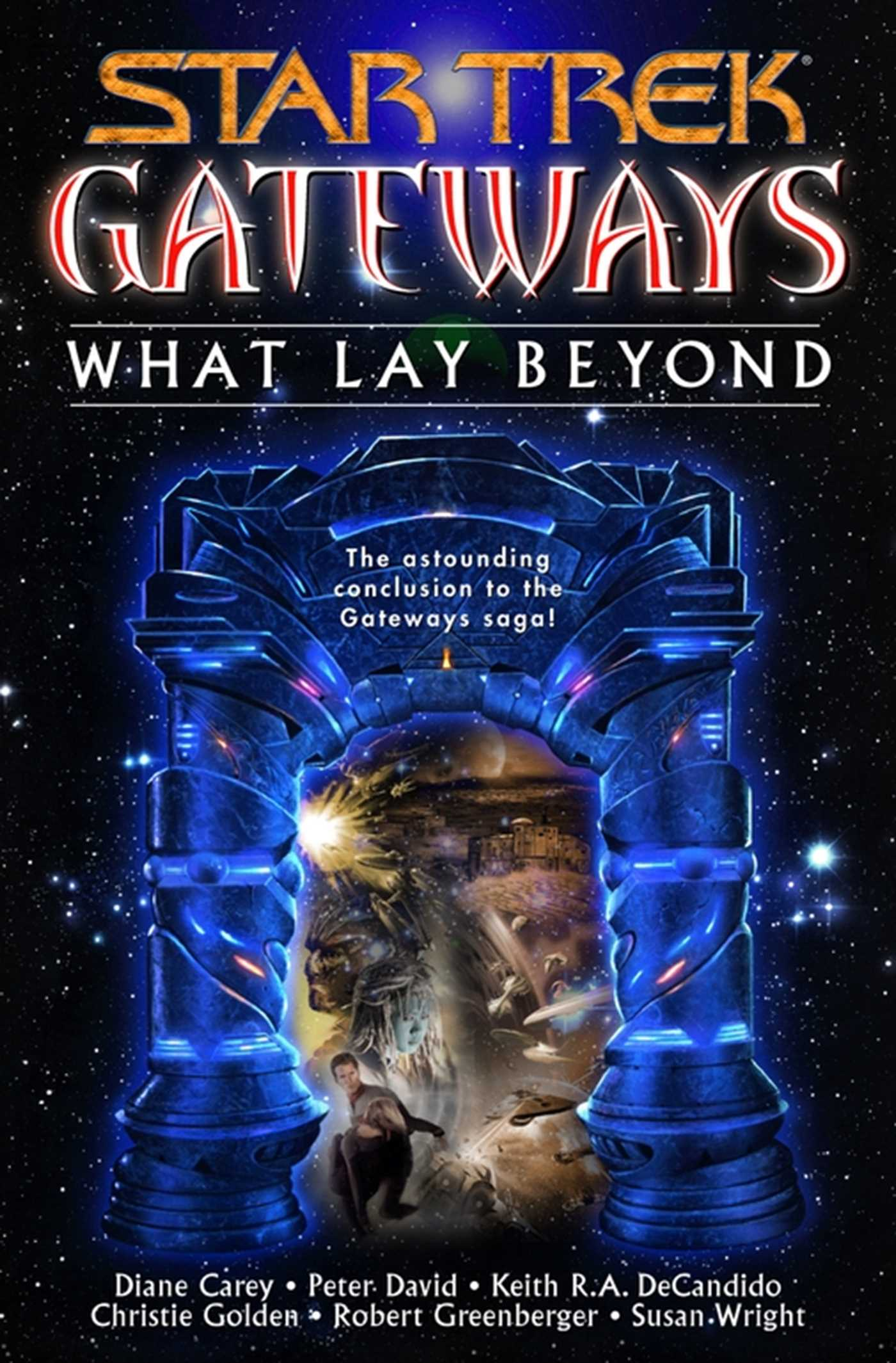 Gateways book seven what lay beyond 9780743431132 hr