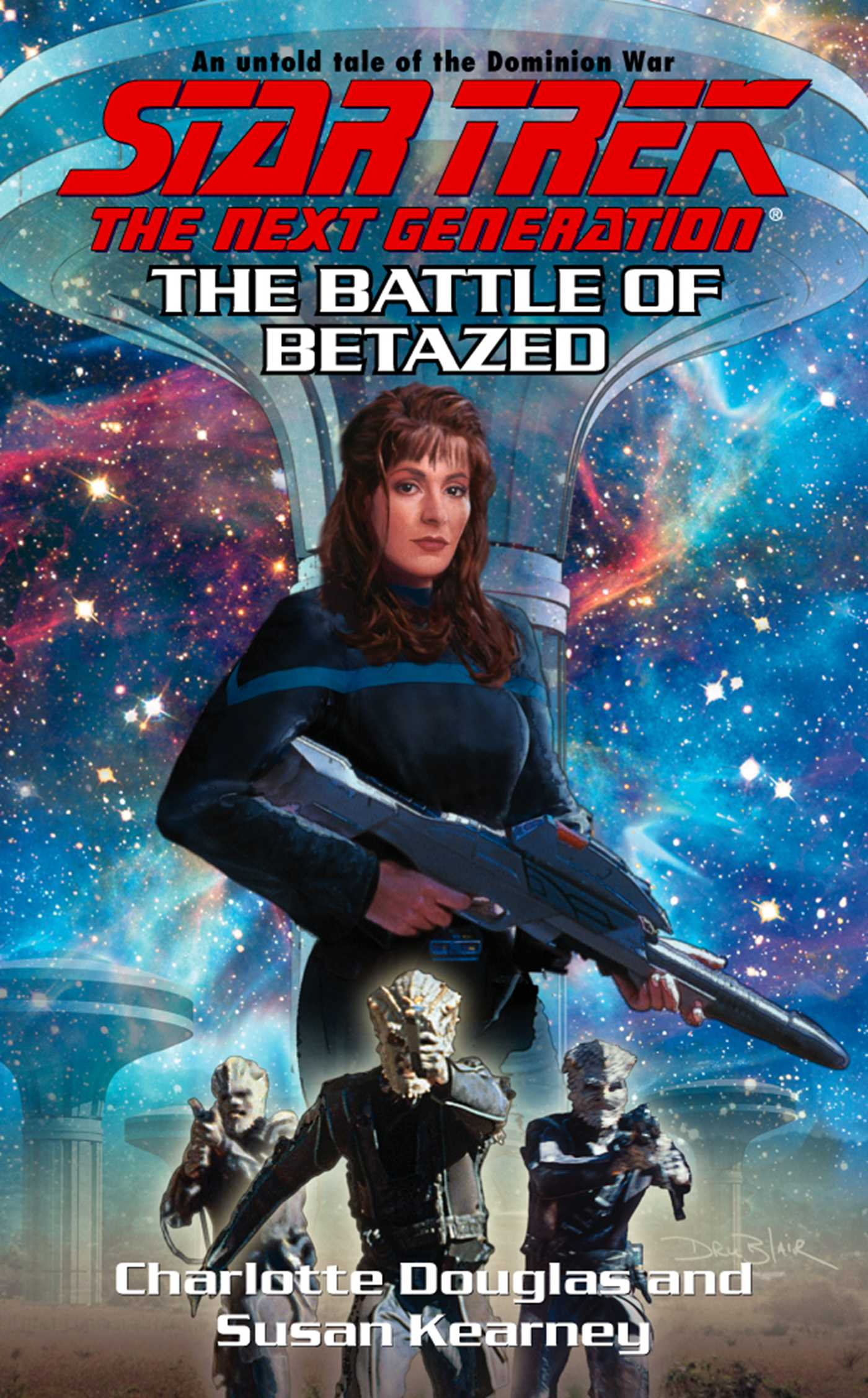 OUT OF THE BLUE (#1) (Tales of the Dominion)
