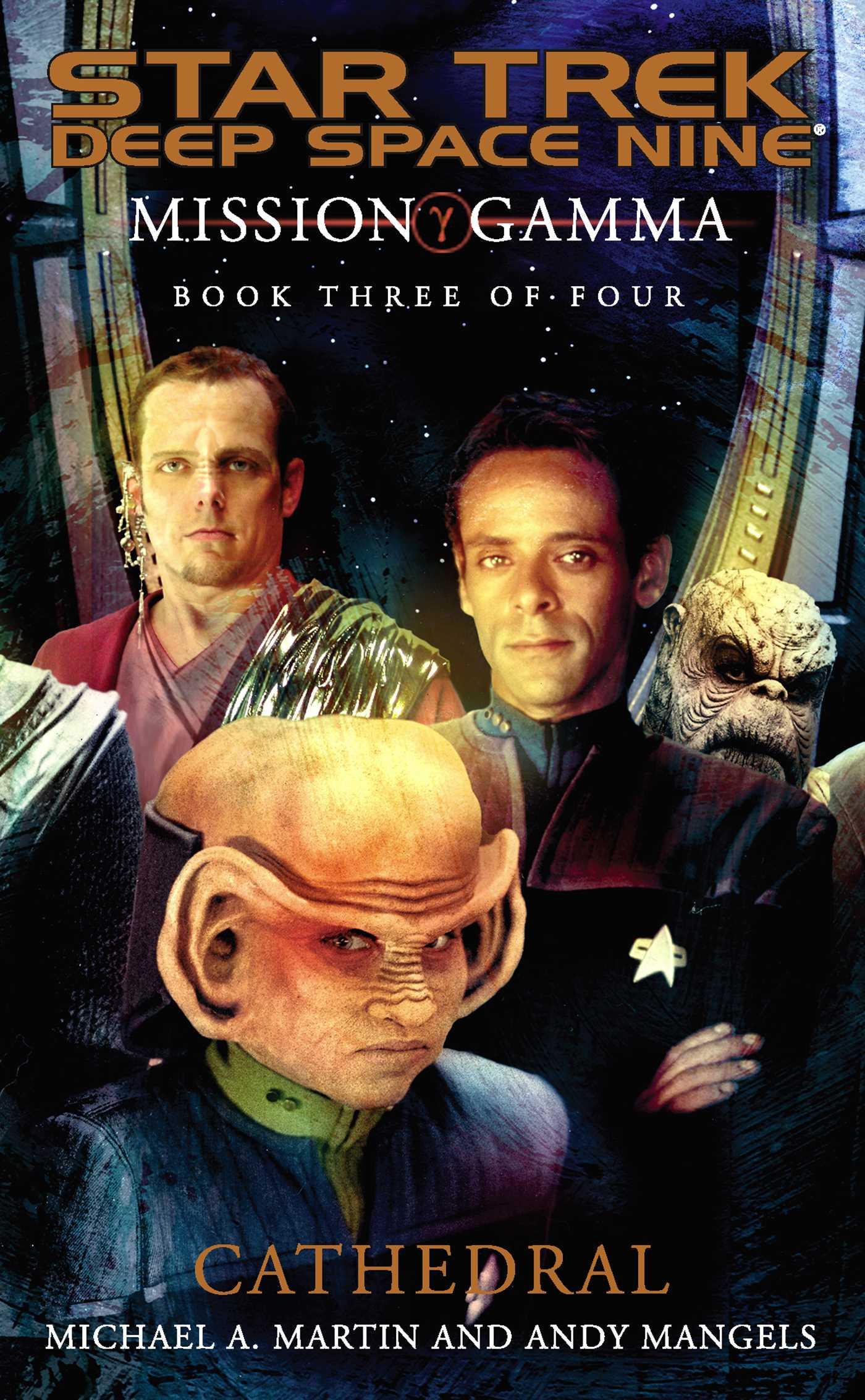 Mission gamma book three 9780743445658 hr