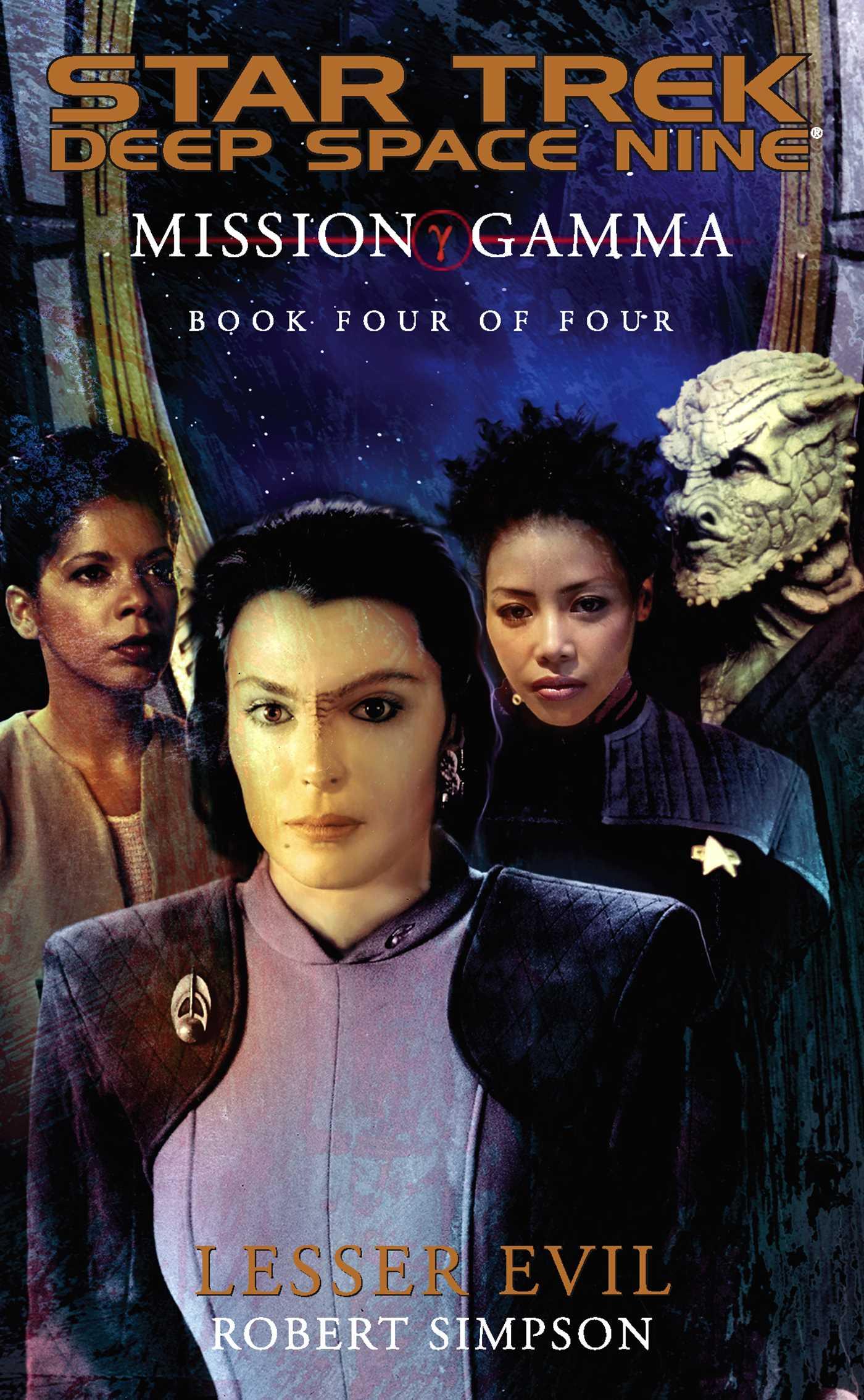 Mission gamma book four 9780743445665 hr