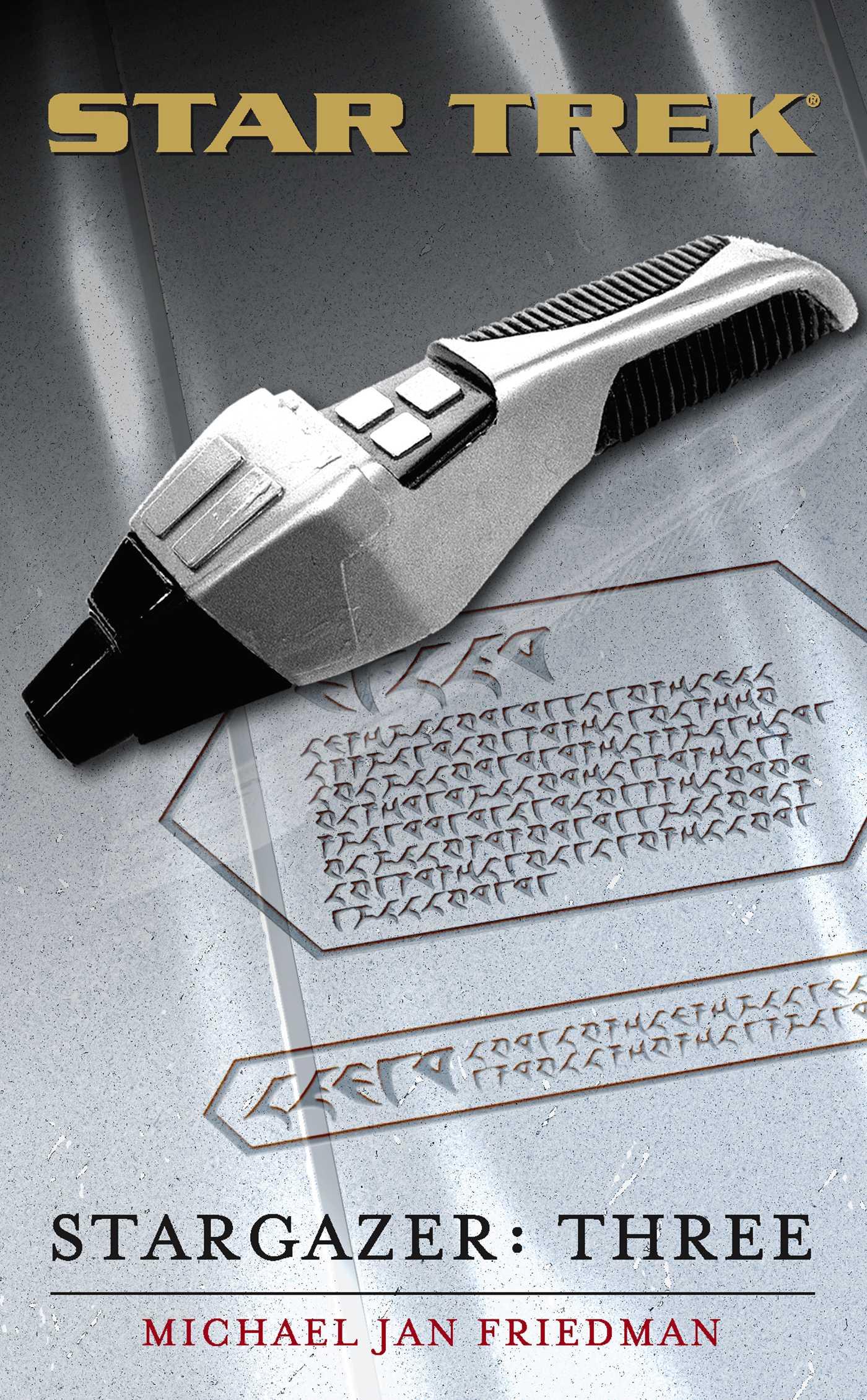 Star trek the next generation stargazer three 9780743448536 hr