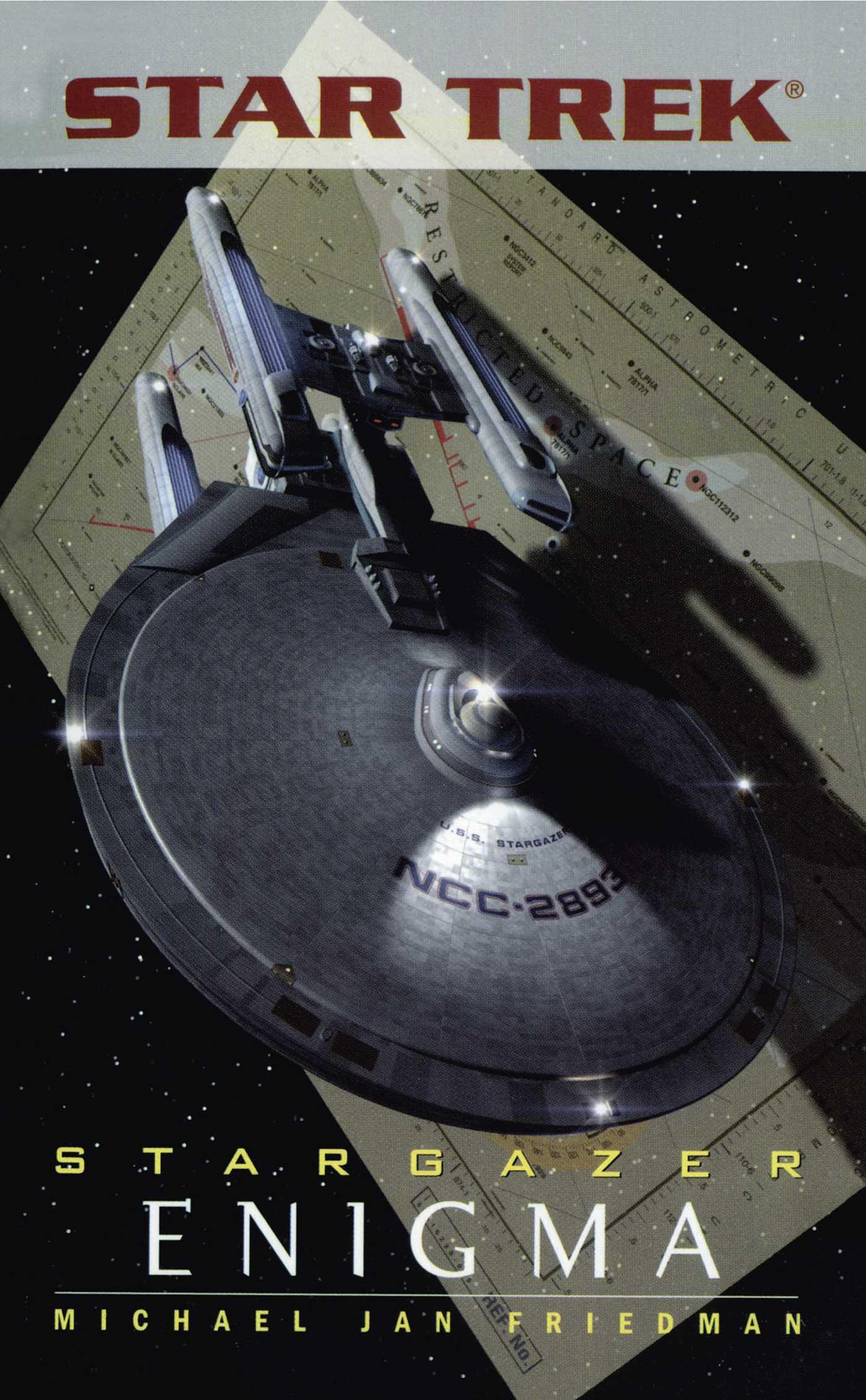 Star trek the next generation stargazer enigma 9780743448574 hr