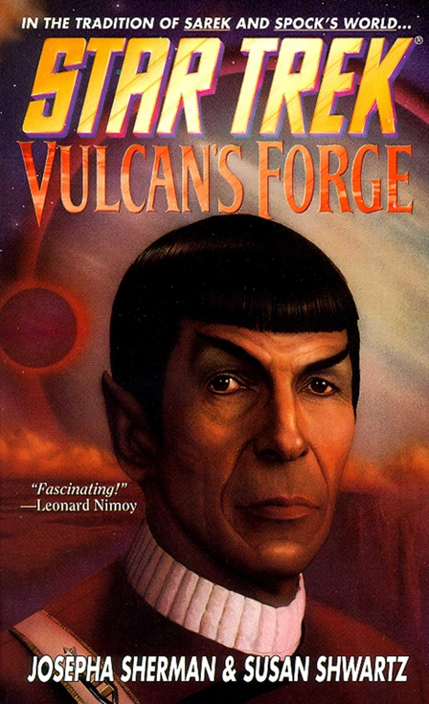 Star trek the original series vulcans forge 9780743454063 hr