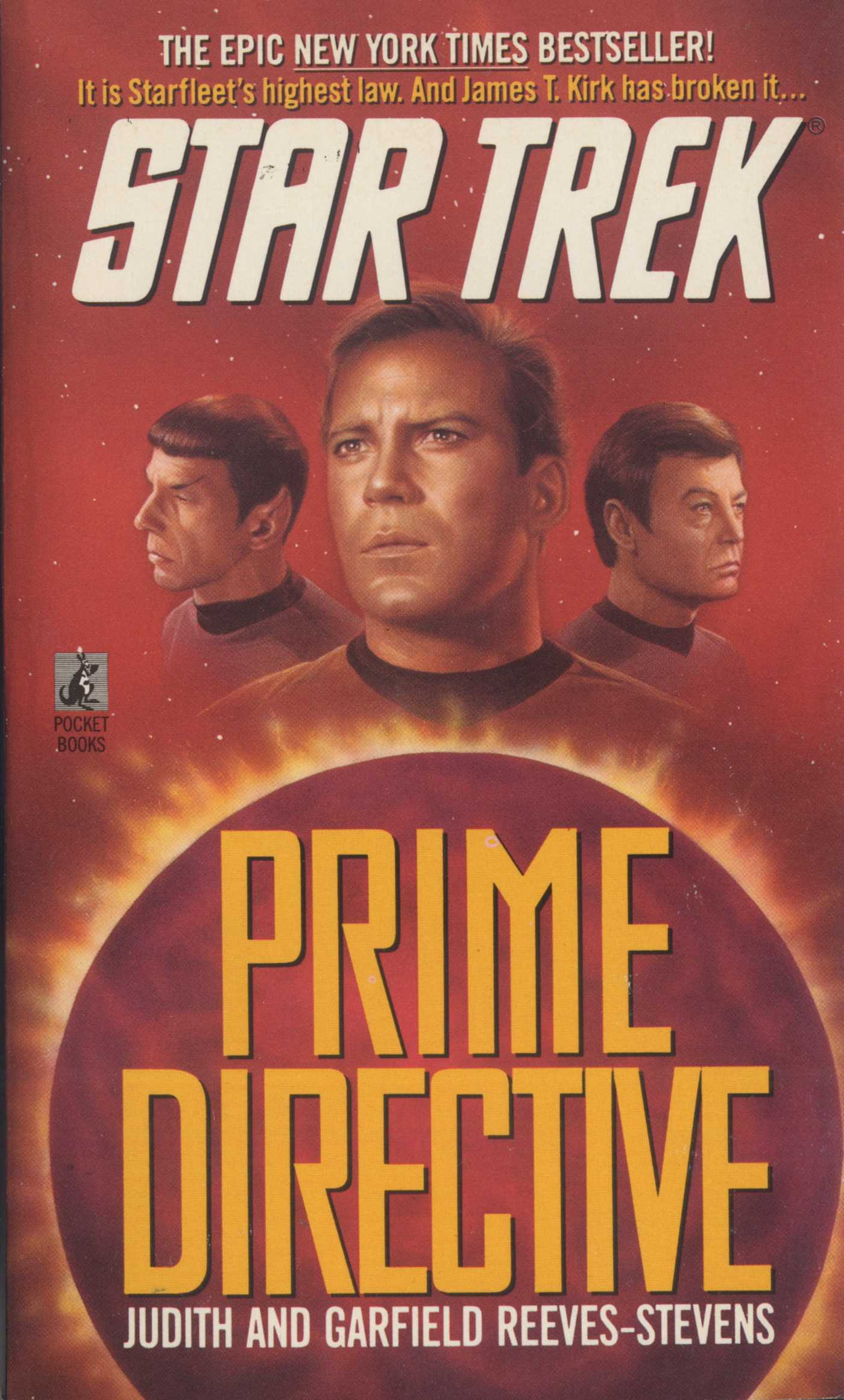 Prime directive 9780743454186 hr