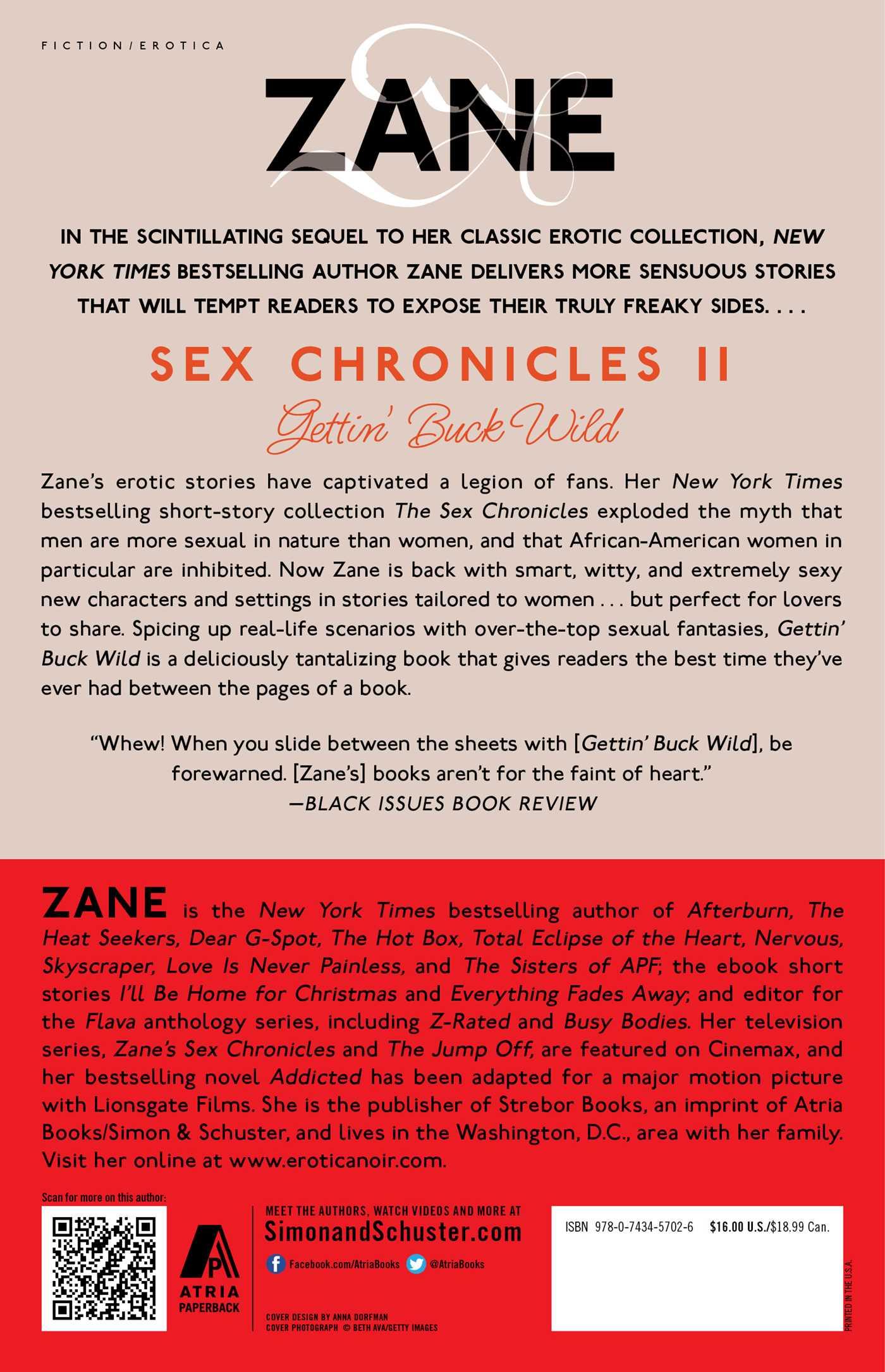 Sex chronicals buck wild by zane