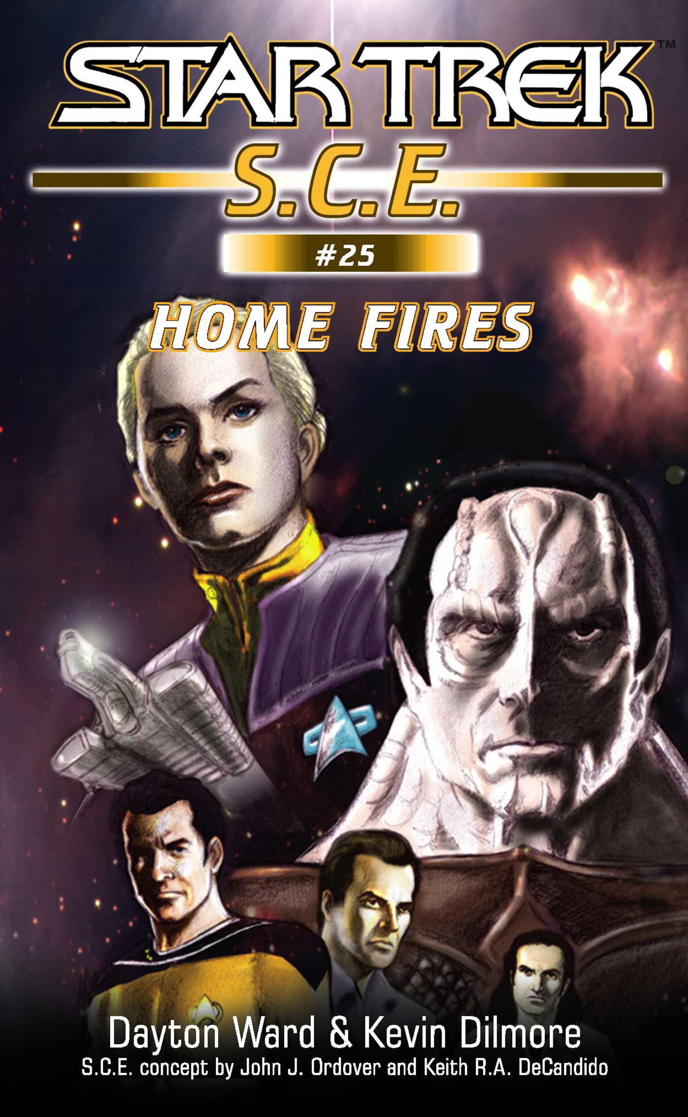 Star trek home fires 9780743475914 hr