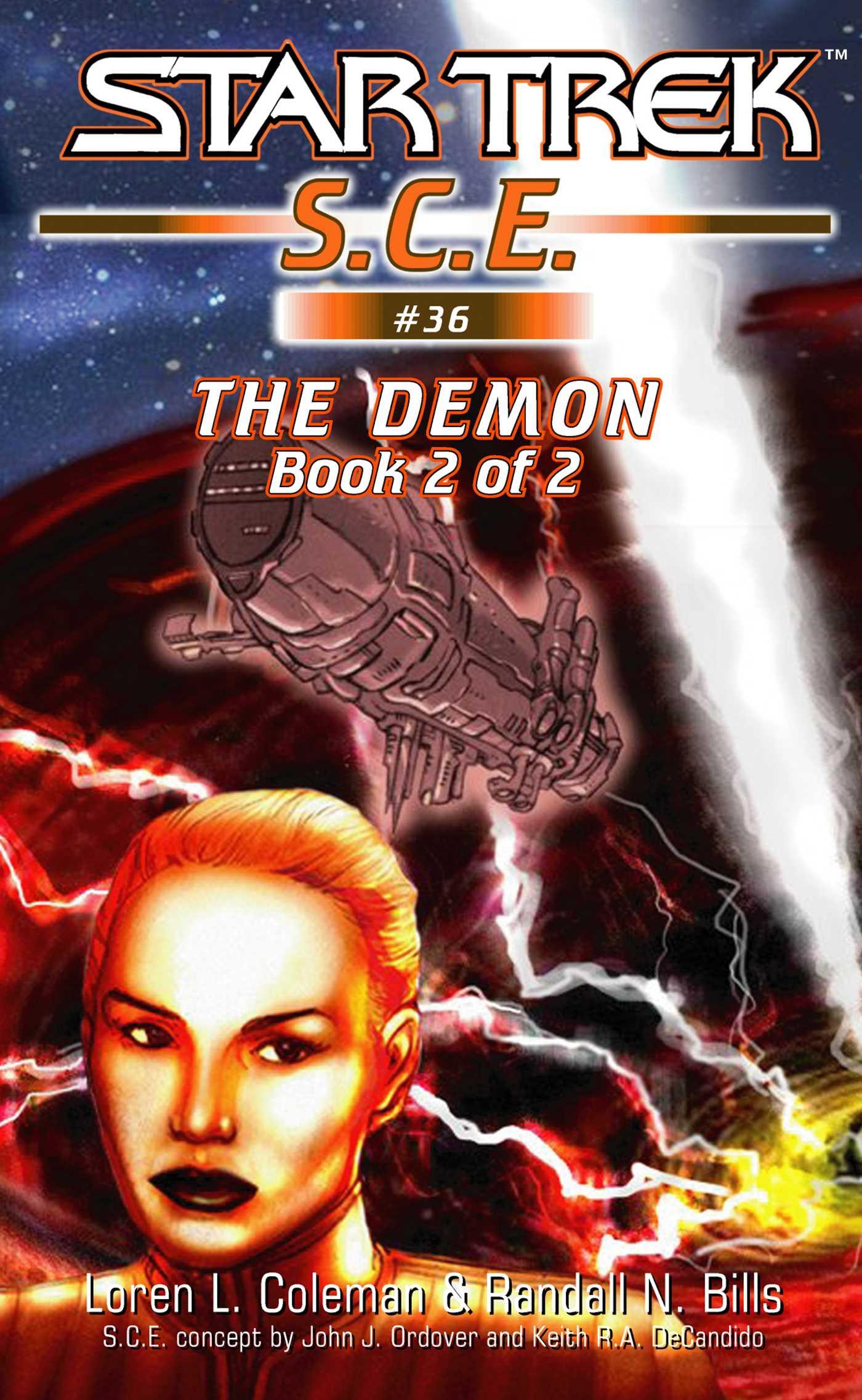 Star trek the demon book 2 9780743476102 hr