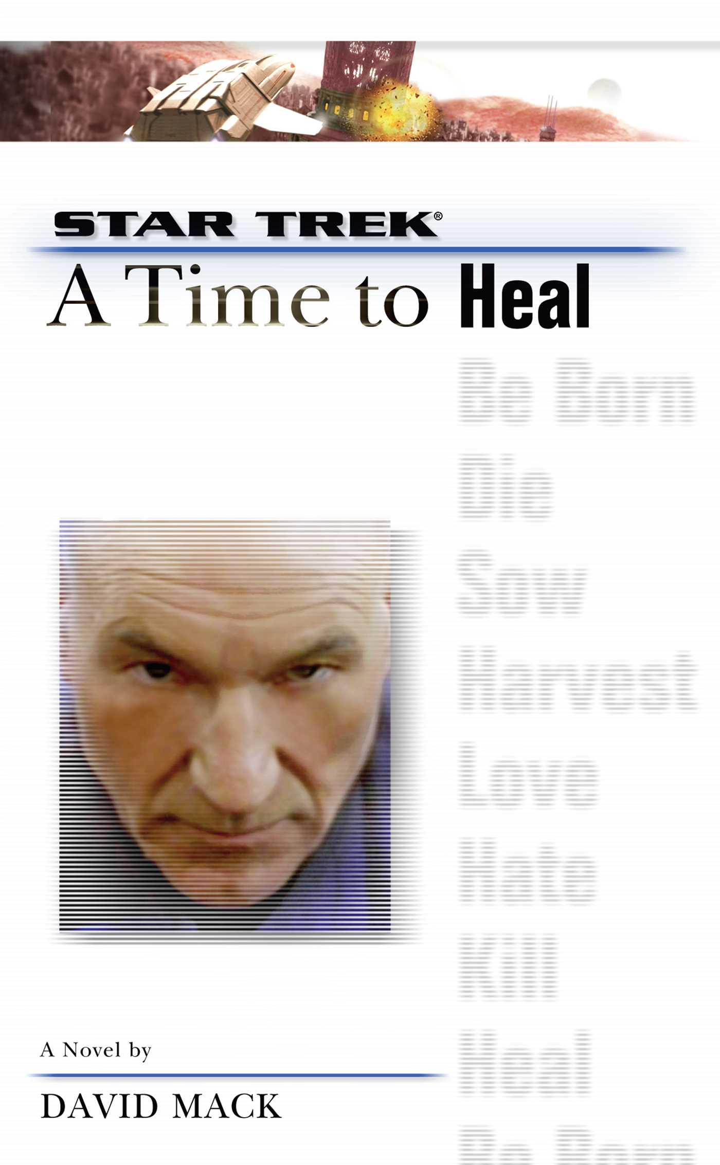 A star trek the next generation time 8 a time to heal 9780743499927 hr