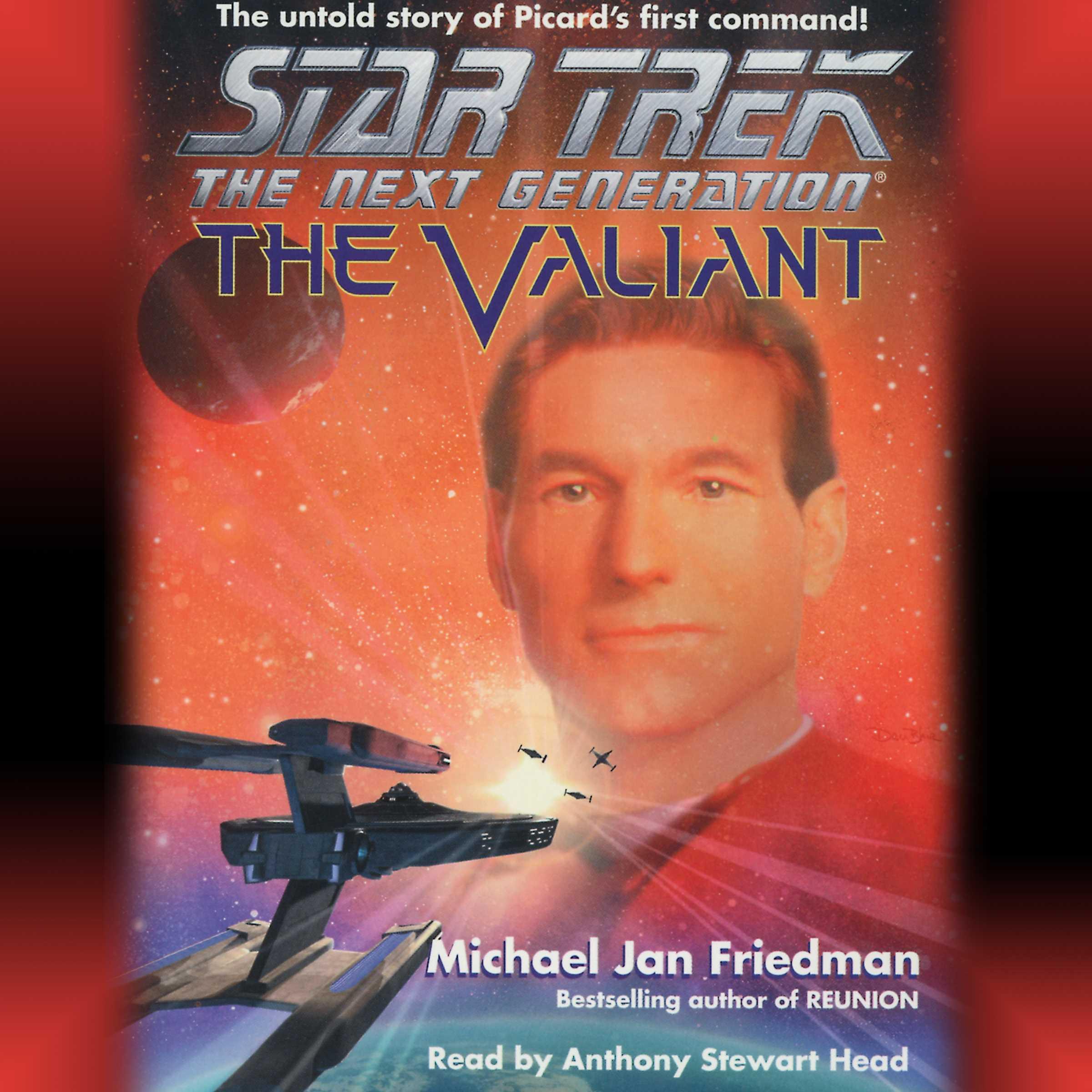Star trek the next generation the valiant 9780743519595 hr
