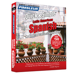 Pimsleur Spanish Quick & Simple Course - Level 1 Lessons 1-8 CD