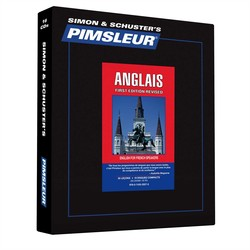 Pimsleur English for French Speakers Level 1 CD